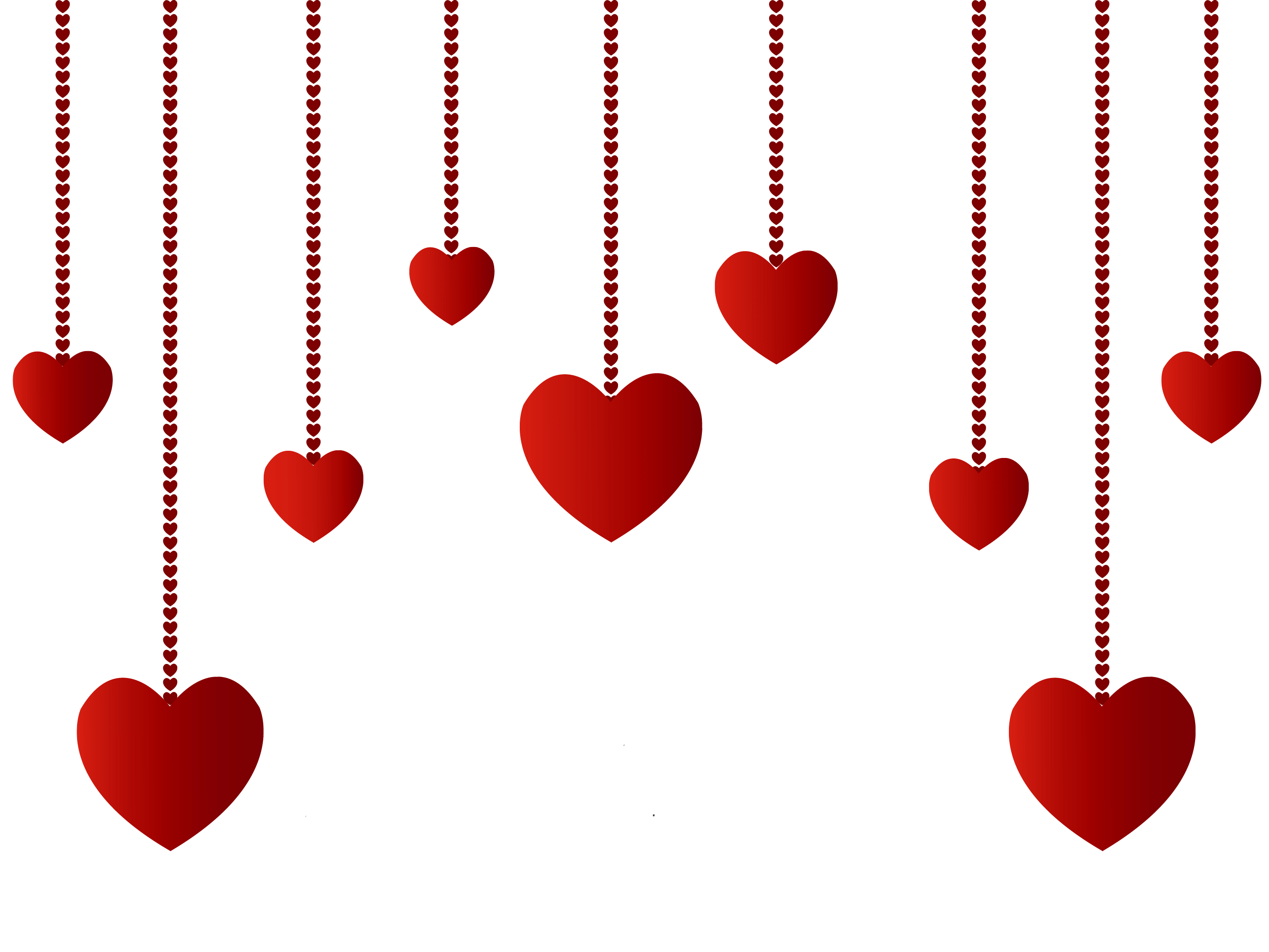 Hanging Hearts Decoration PNG Picture | CLIPART | Pinterest ...