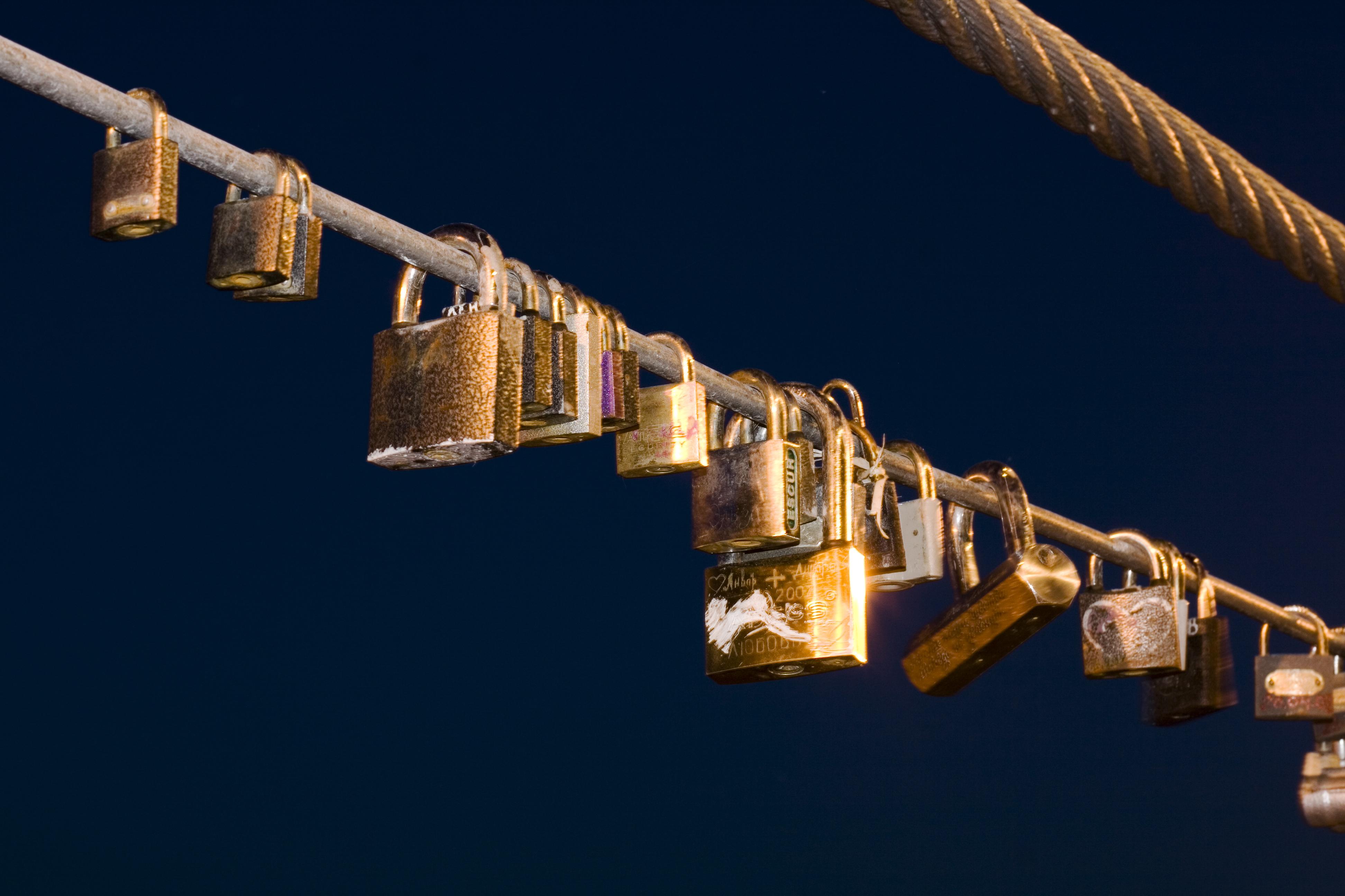 love locks, Ancient, Lock, Ufa, Rust, HQ Photo