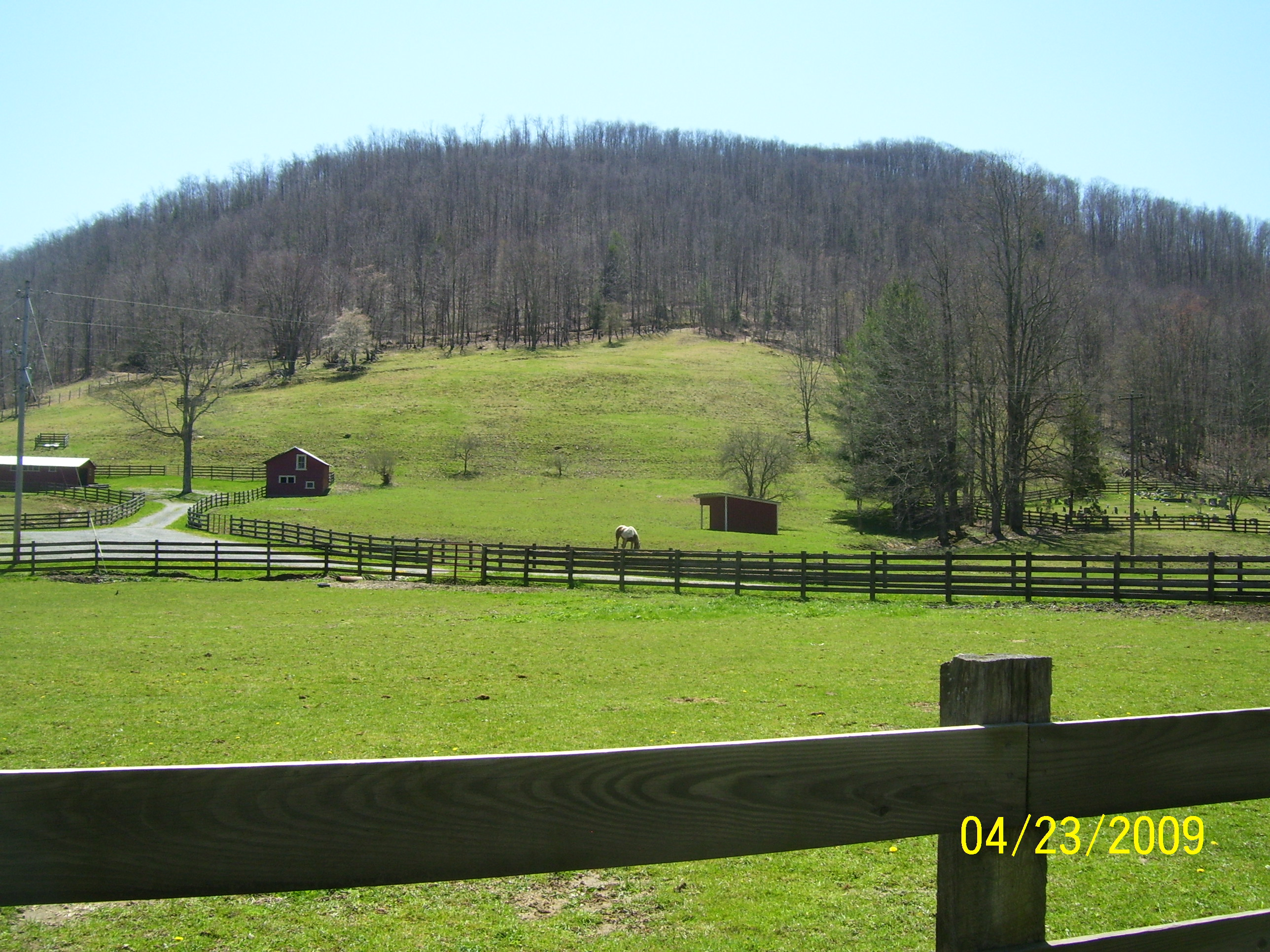 Lovely Scenery, Farm, Fence, Fields, Forest, HQ Photo