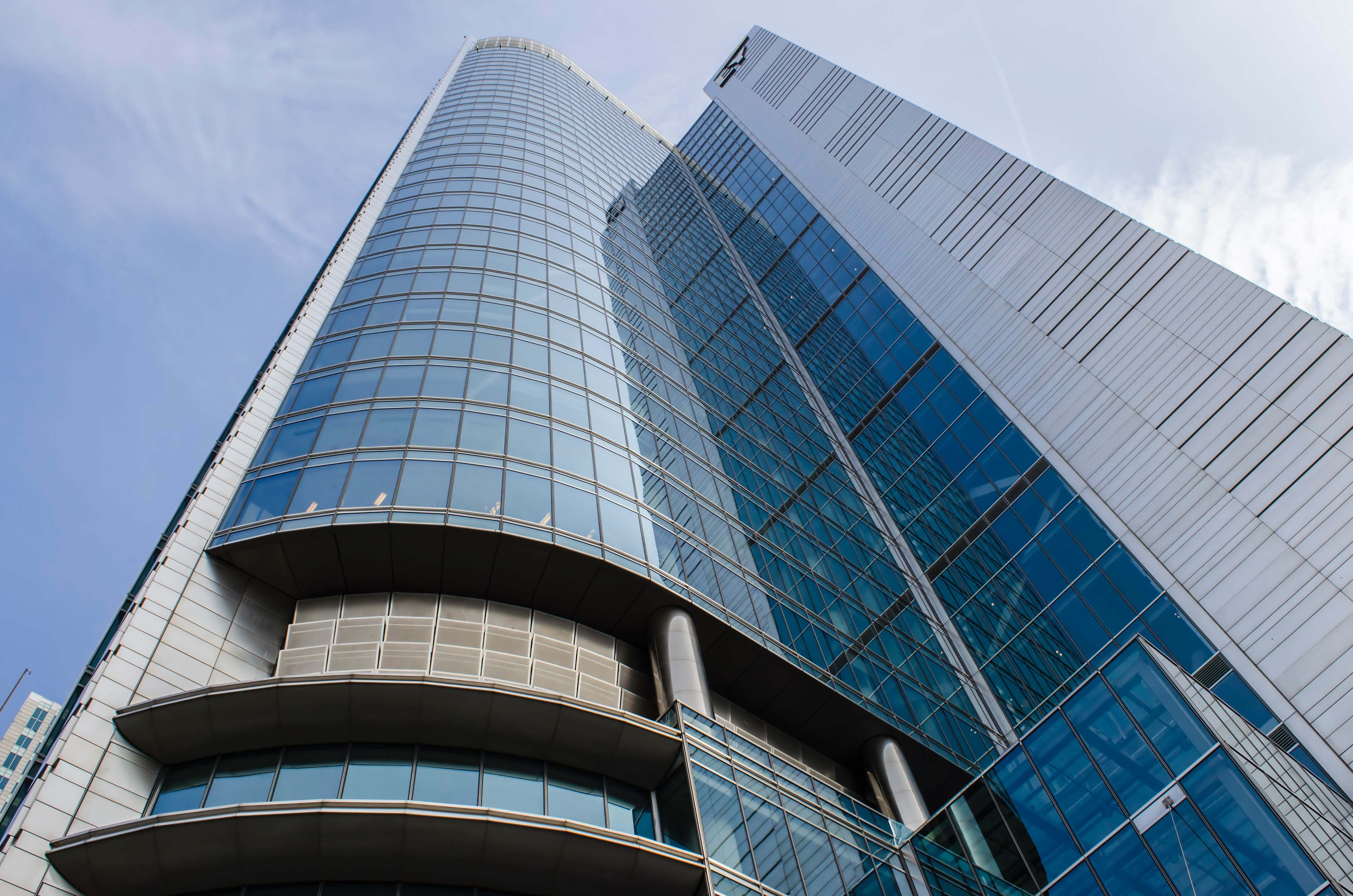Low Angle View of High-rise Building, Architectural design, Modern, Urban, Tower, HQ Photo