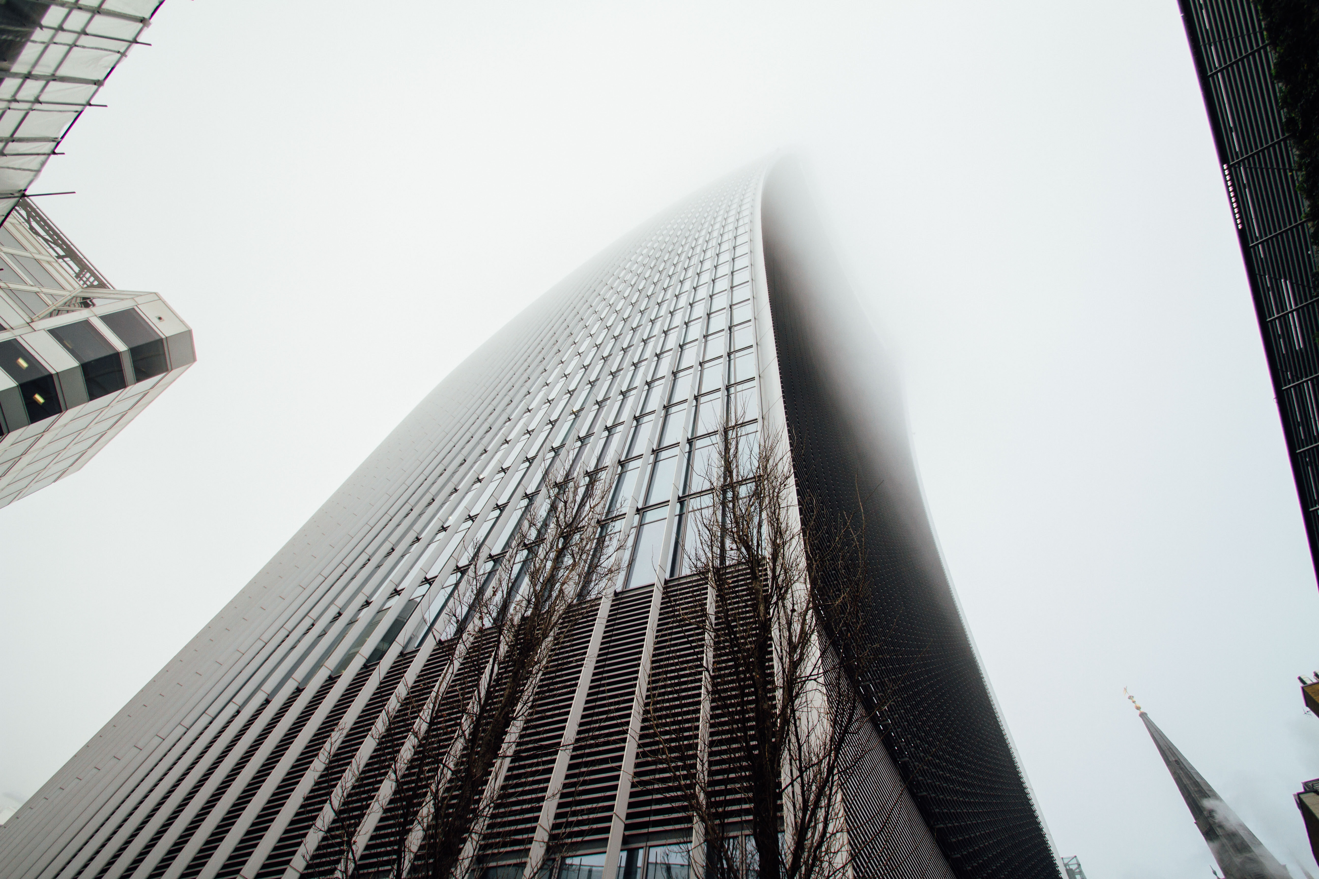 Low Angle View of Skyscrapers Against Sky, Holidays, Urban, Technology, Tall, HQ Photo