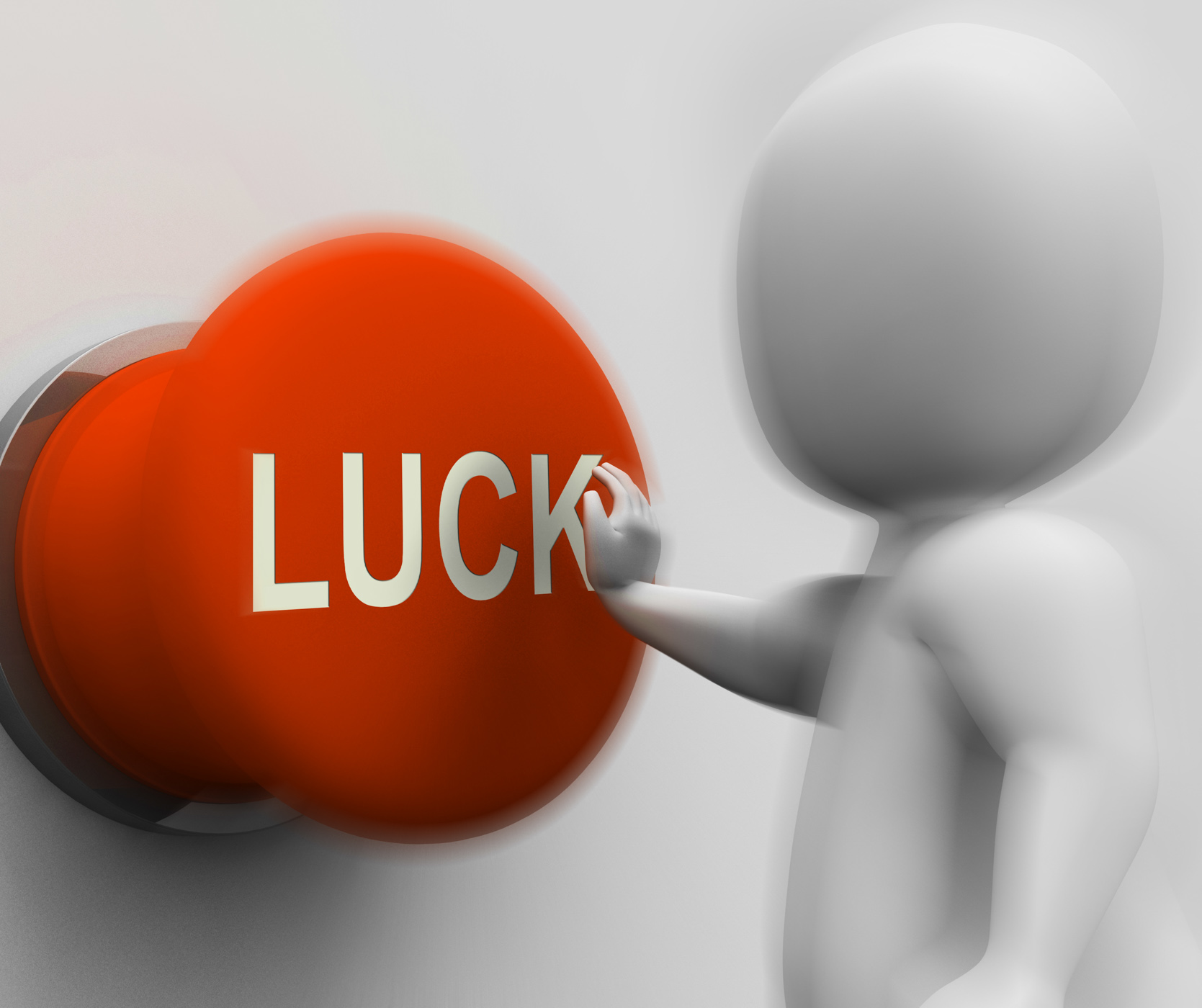 Luck pressed shows gambling fortunate and risk photo