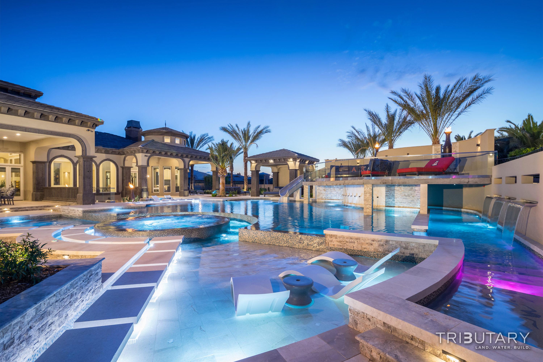 Luxury pool photo