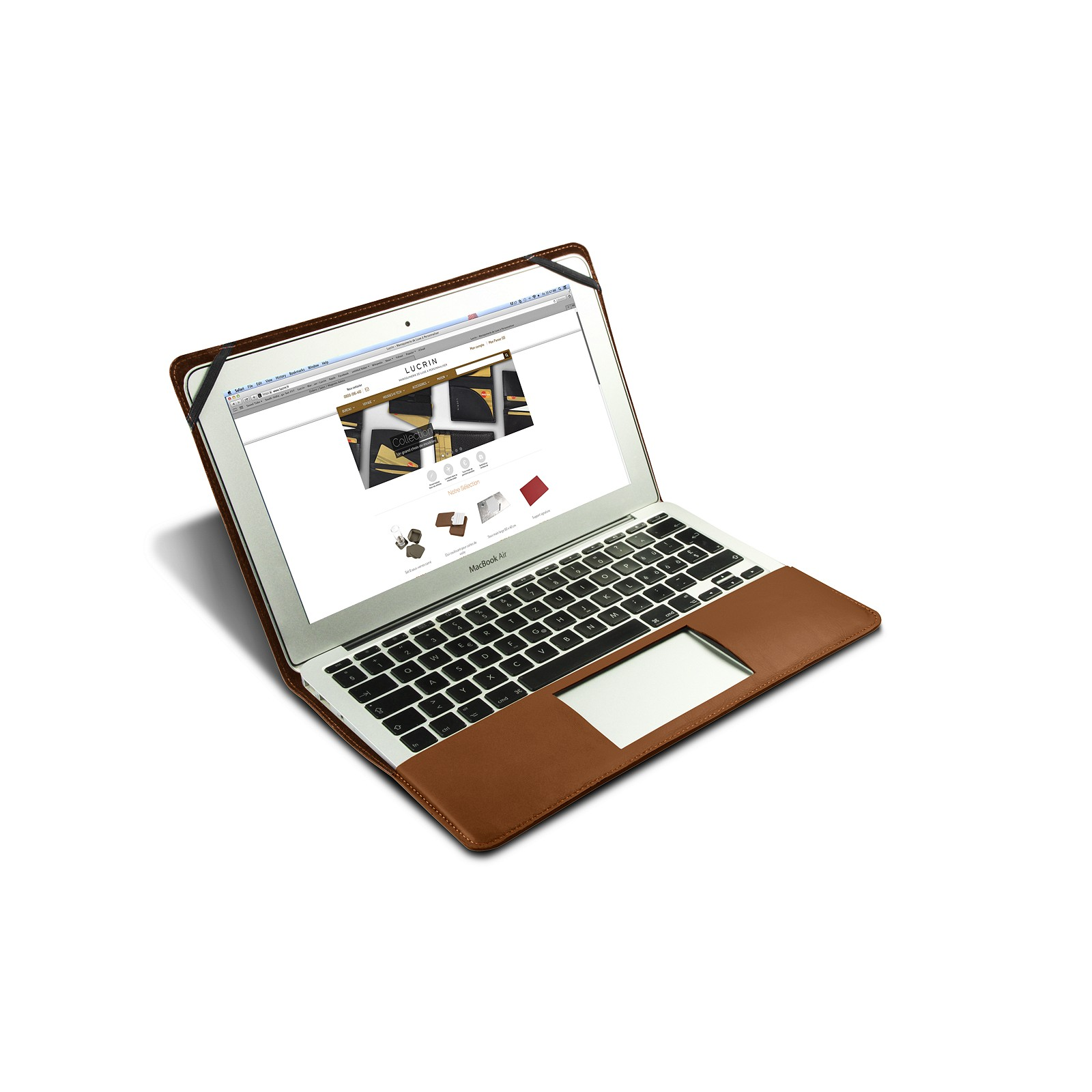 Leather case for 13 inch macbook air