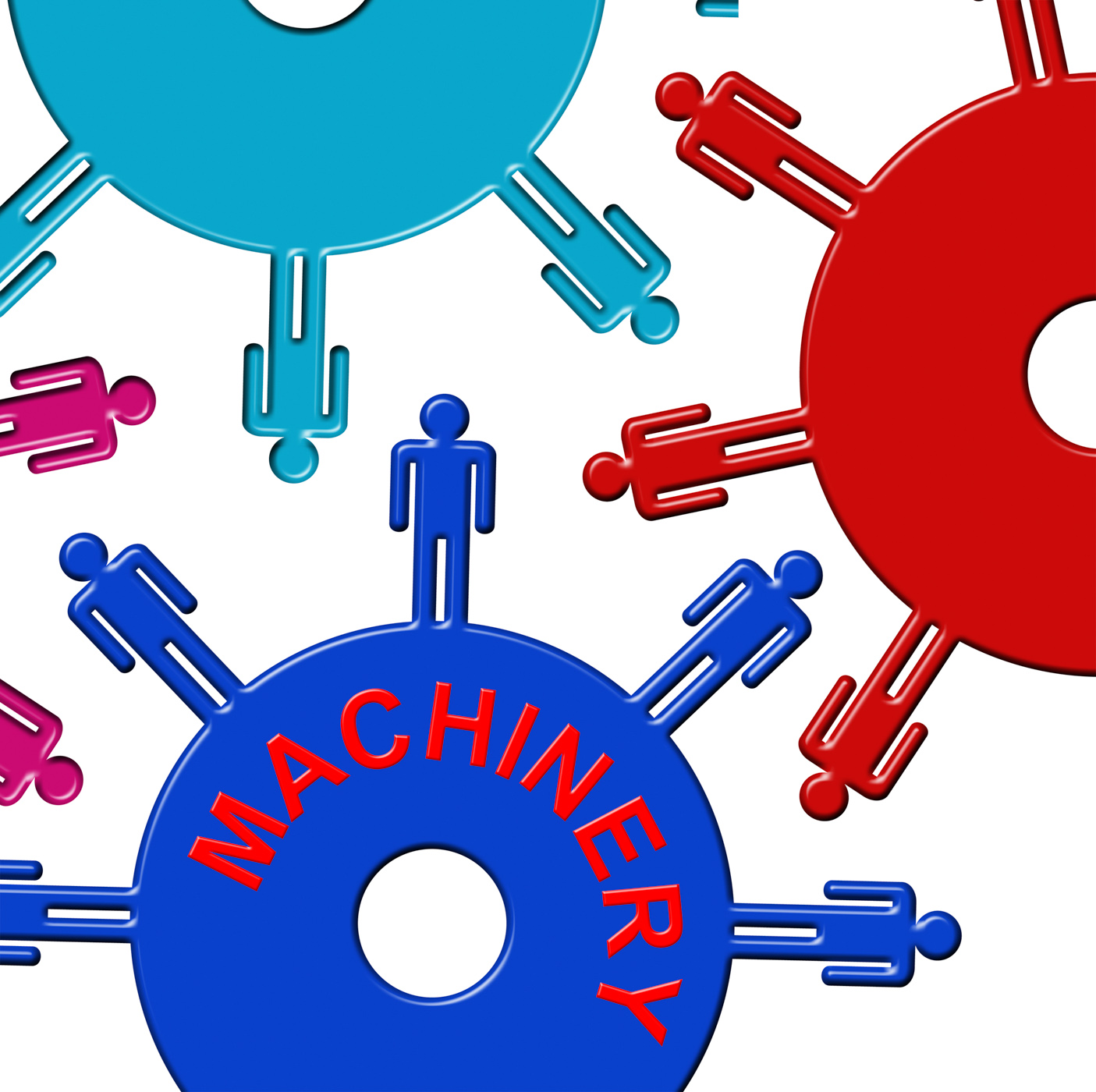 Machinery cogs shows factory wheel and workshop photo