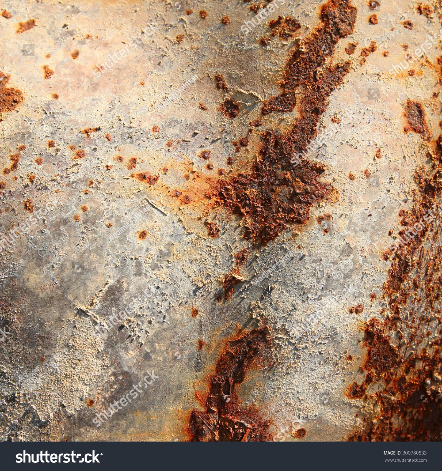 Macro rust texture photo