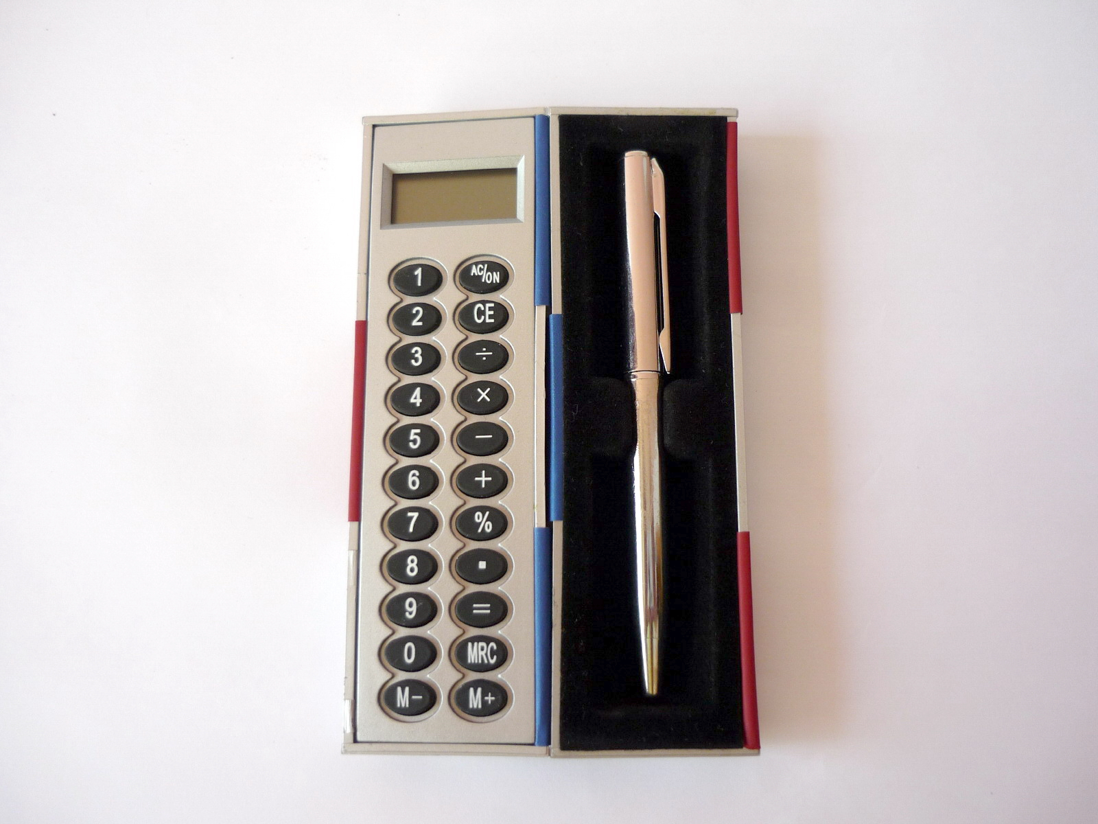 Magic calculator with ball pen photo