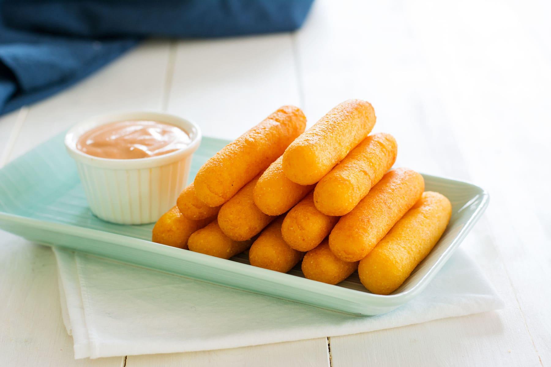 Sorullitos de Maiz - Food Fanatic