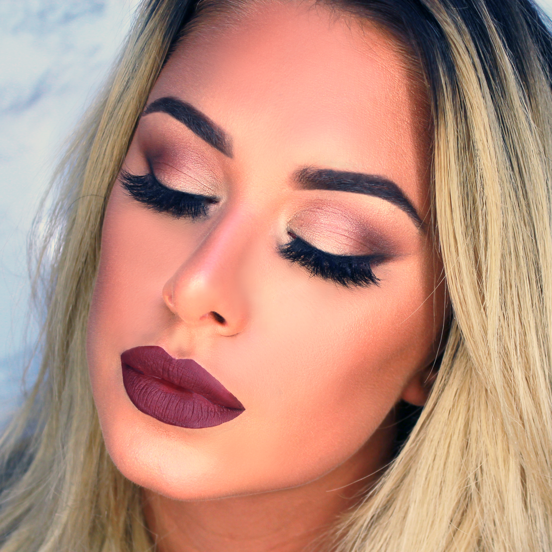 Fall Makeup tutorial - TashieTinks