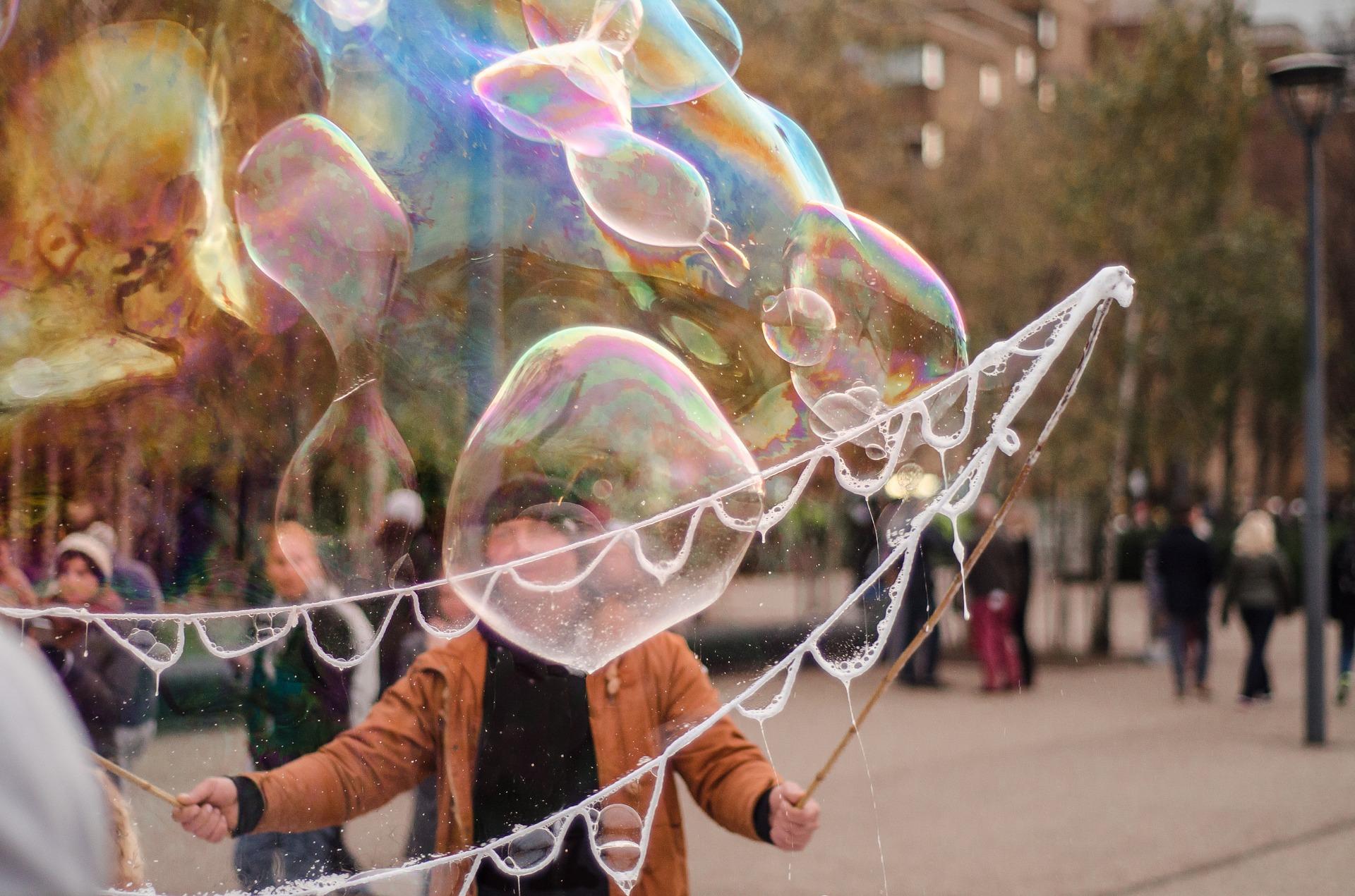 Making bubbles photo