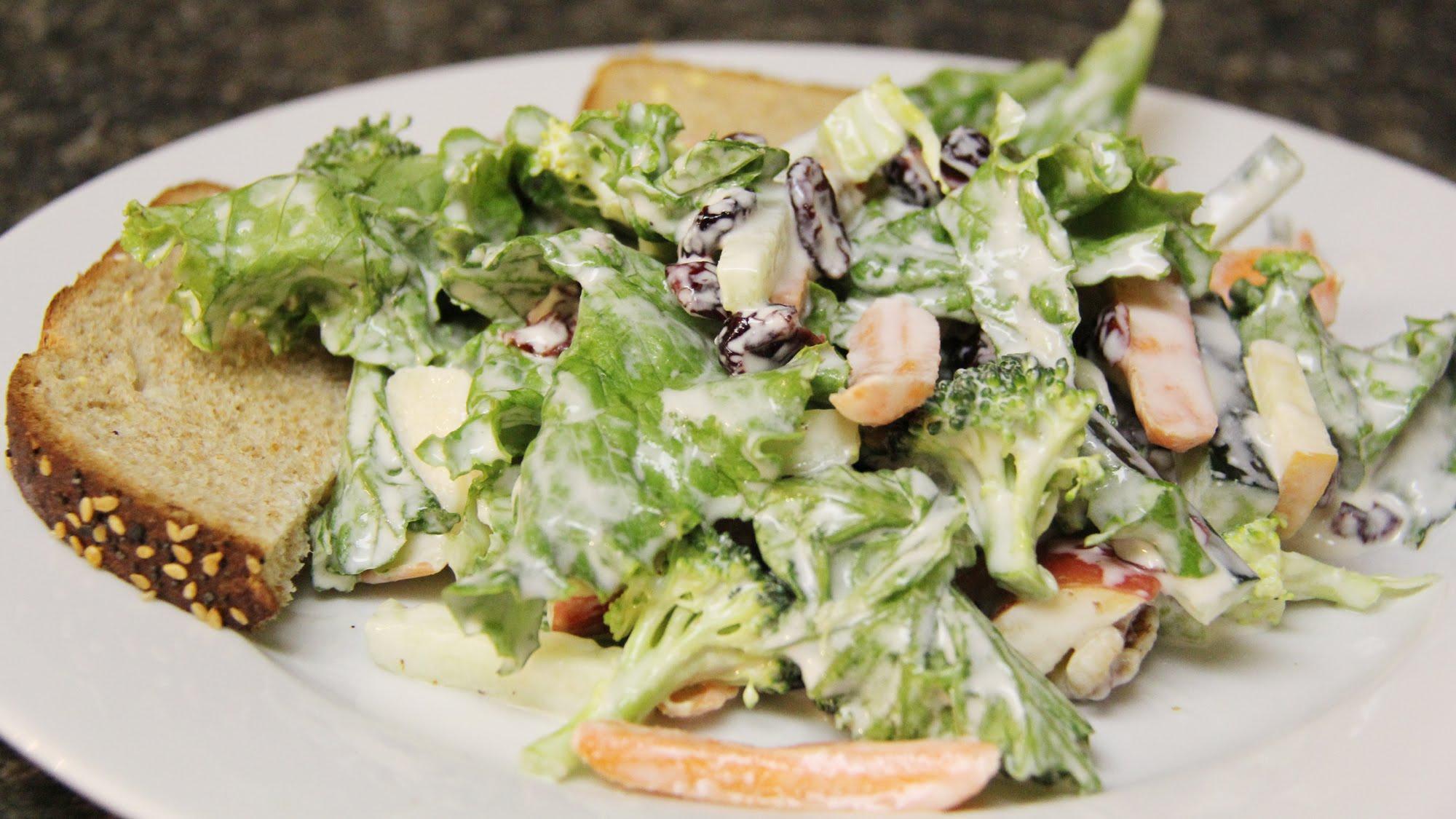 Making veg salad photo