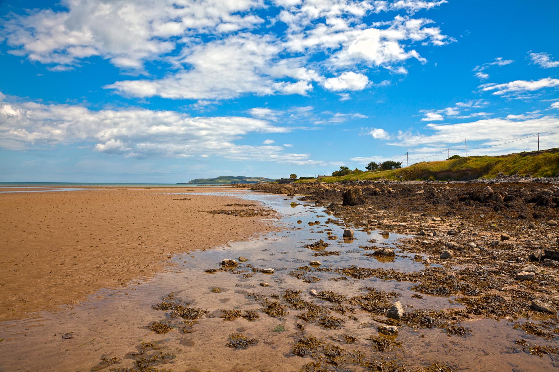 Malahide beach - hdr photo