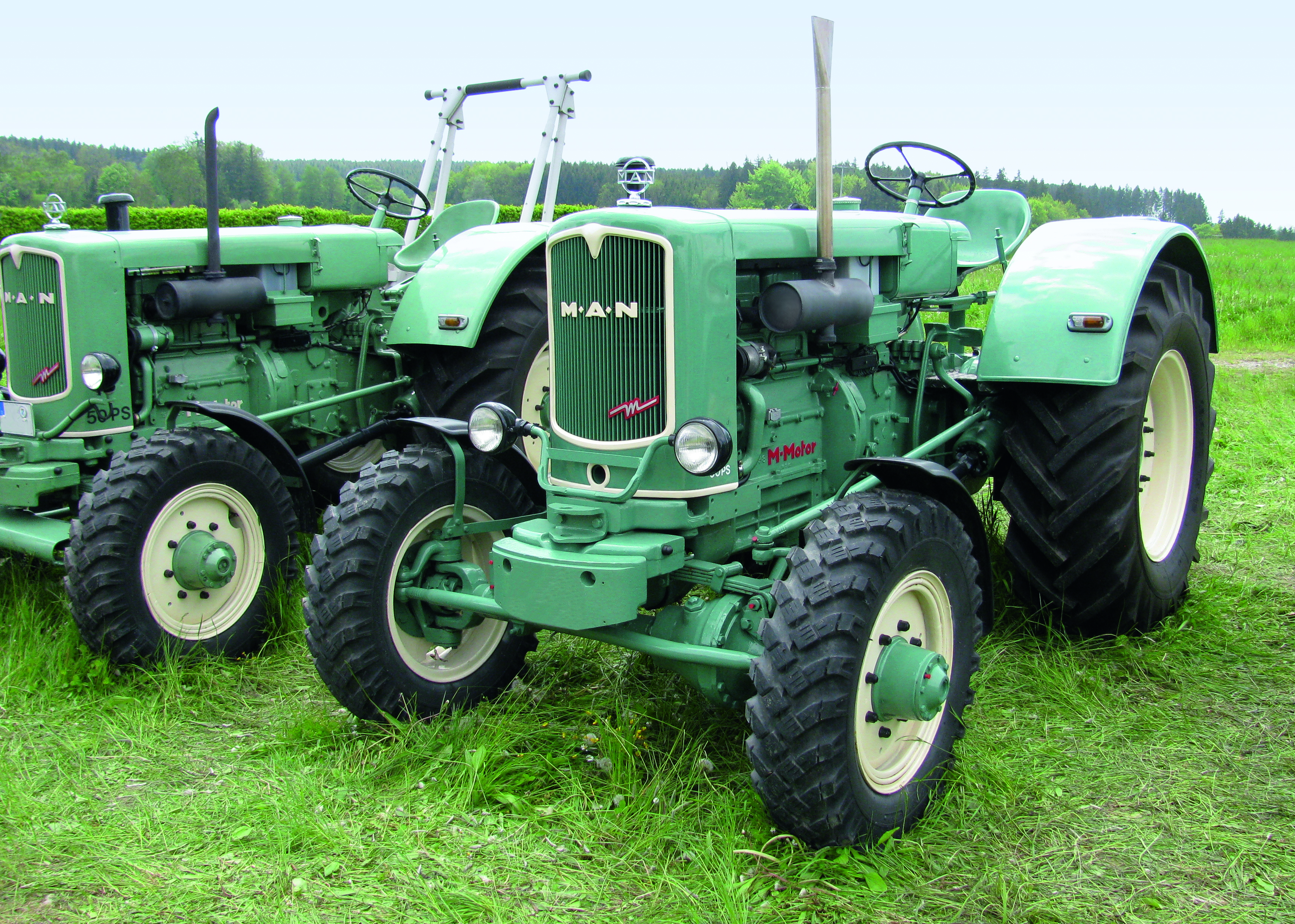 MAN milestones in agricultural technology   MAN Engines