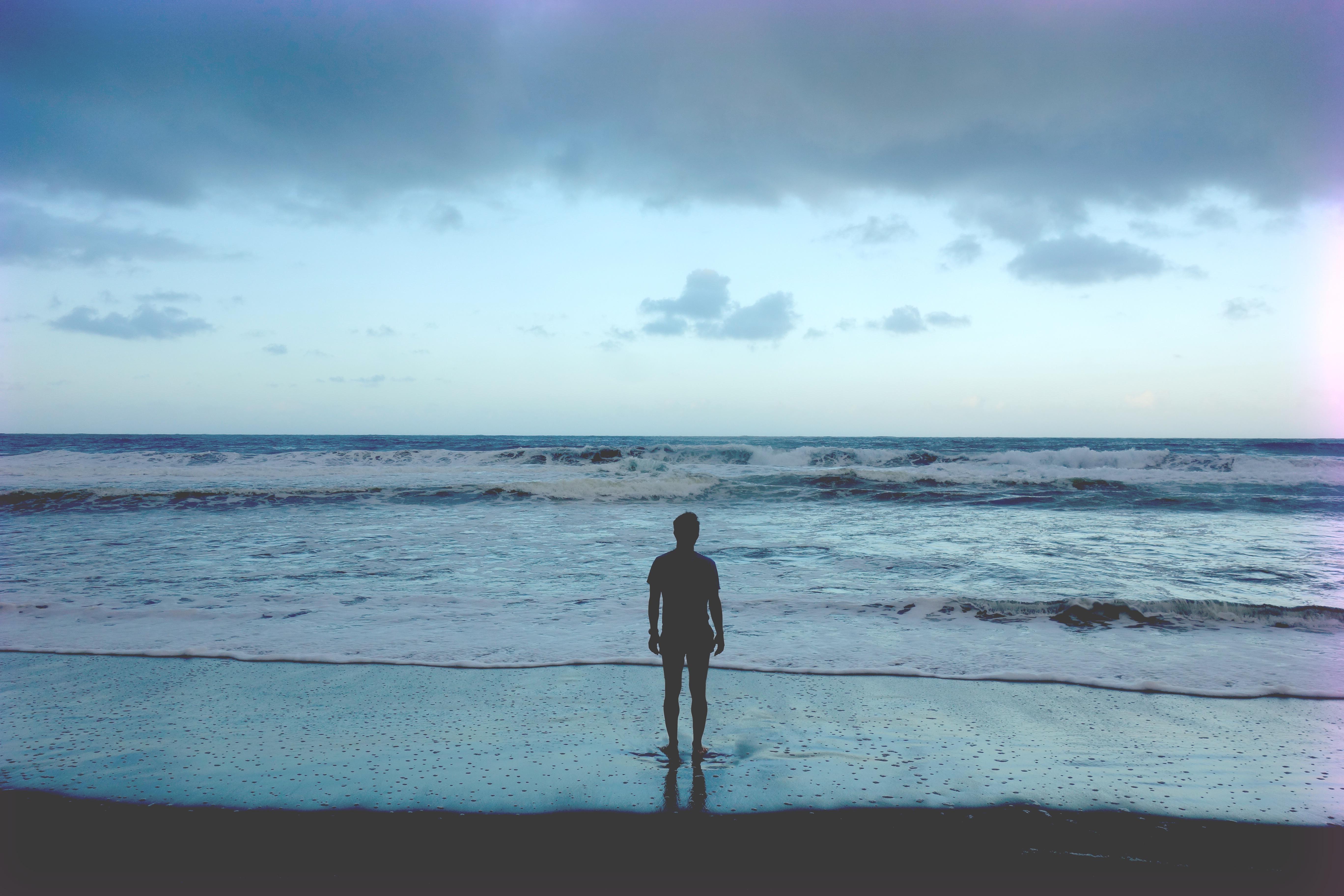 Man At The Beach, Activity, Beach, Human, Man, HQ Photo