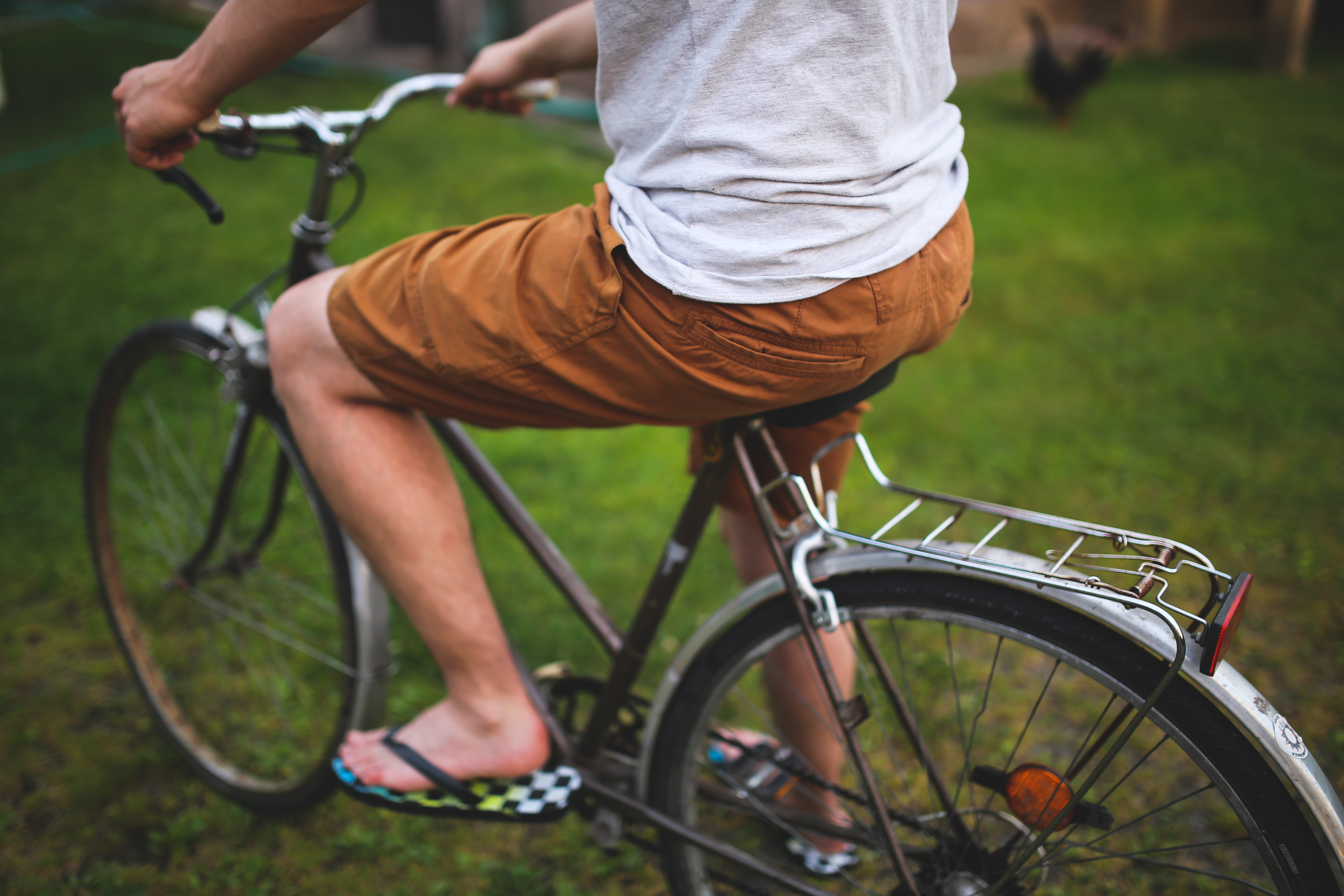 Man Beside Bicycle · Free Stock Photo