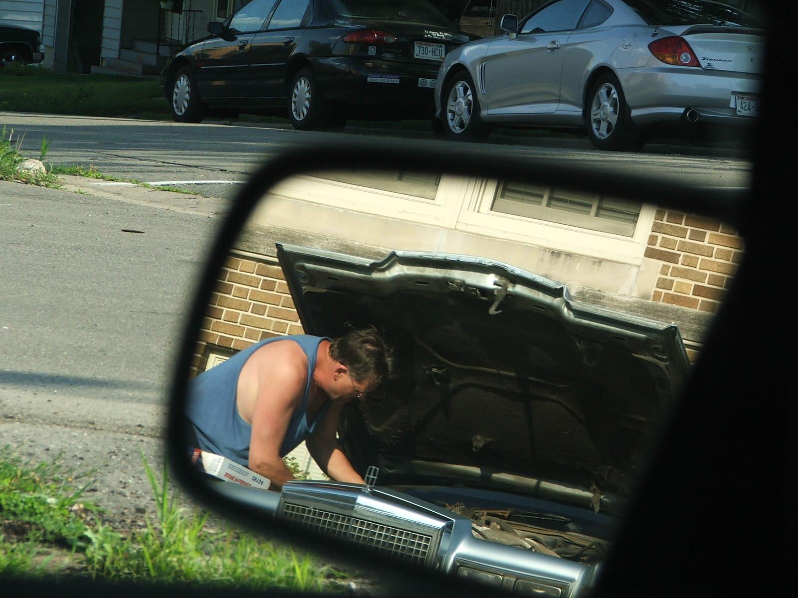 Man fixing Car, Automobile, Broken, Bspo06, Car, HQ Photo