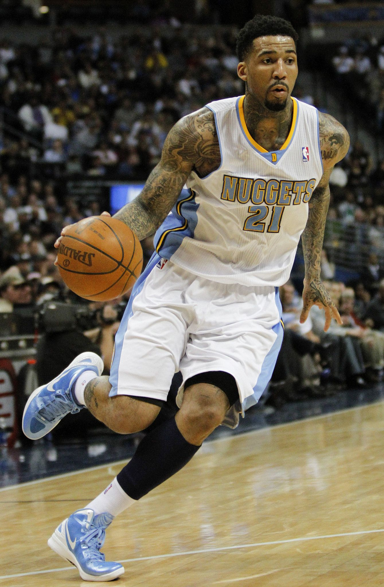 NBA forward Wilson Chandler is from my hometown he inspired me to ...