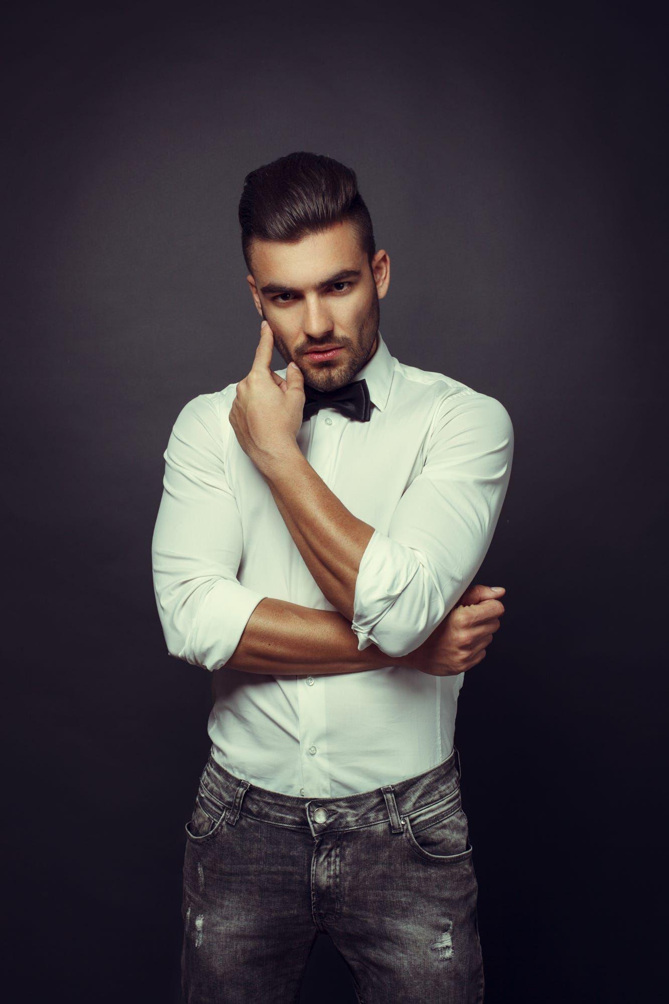 Free photo: Man posing - Adult, Lifestyle, Look - Free ...