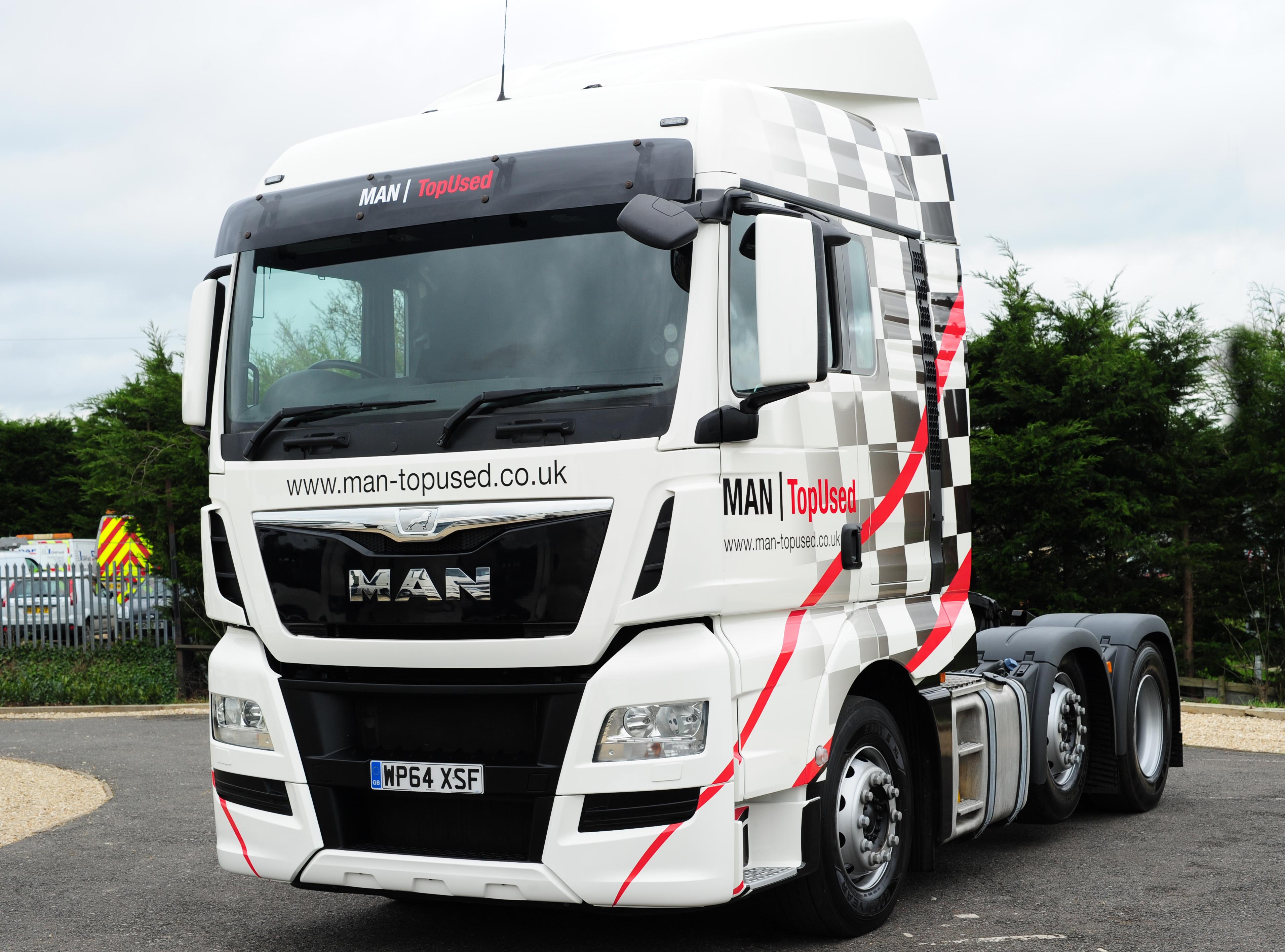 Man truck photo