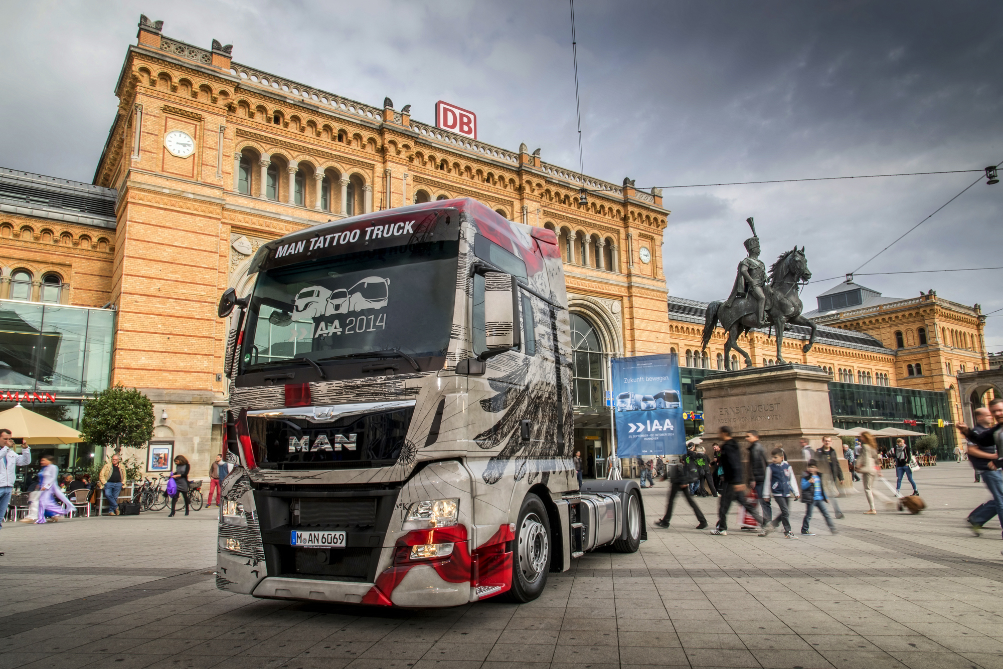 MAN presents spectacular truck designs to mark the IAA | MAN Truck ...