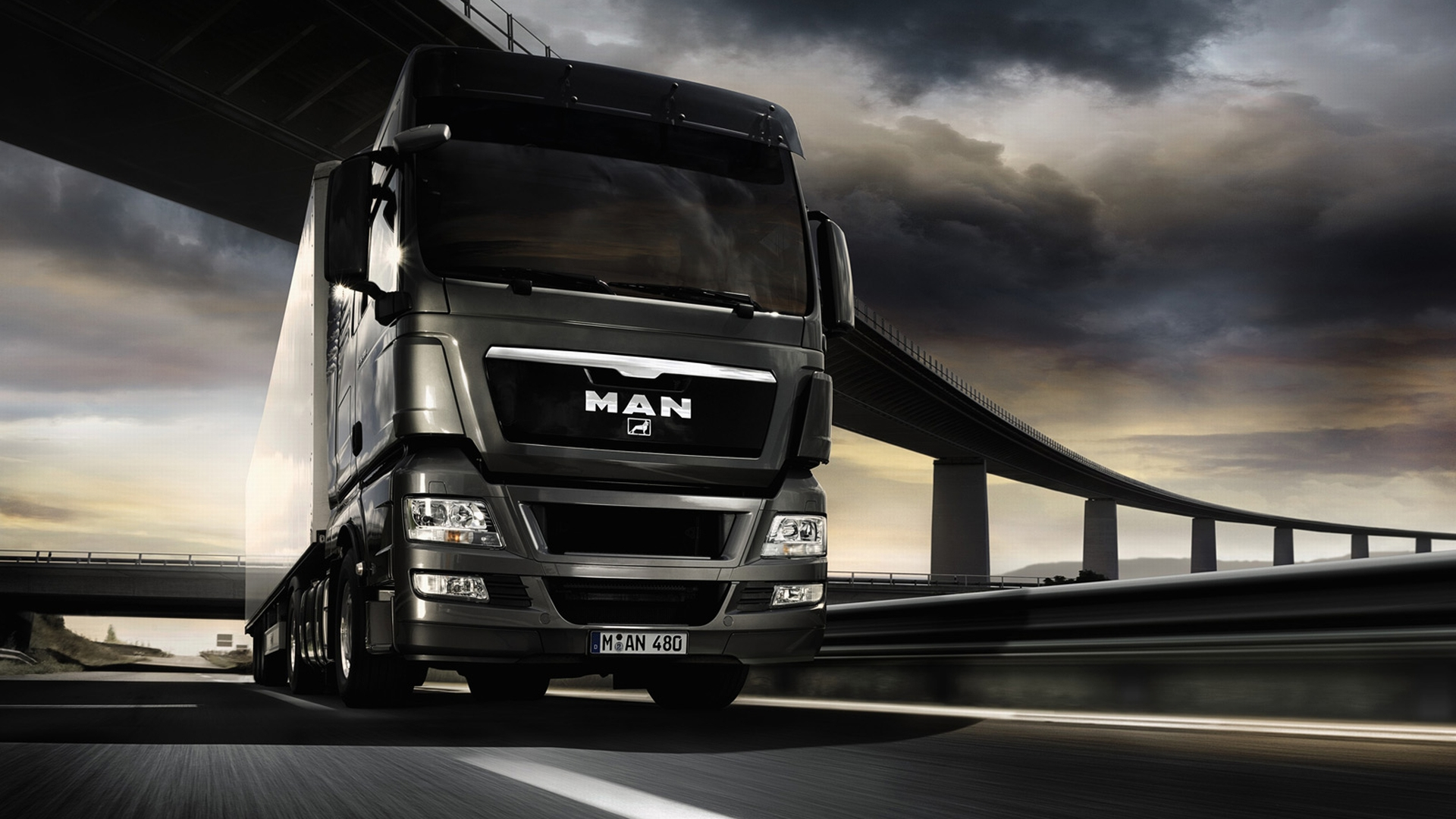 MAN Truck Wallpaper (8654) - Wallpaperesque