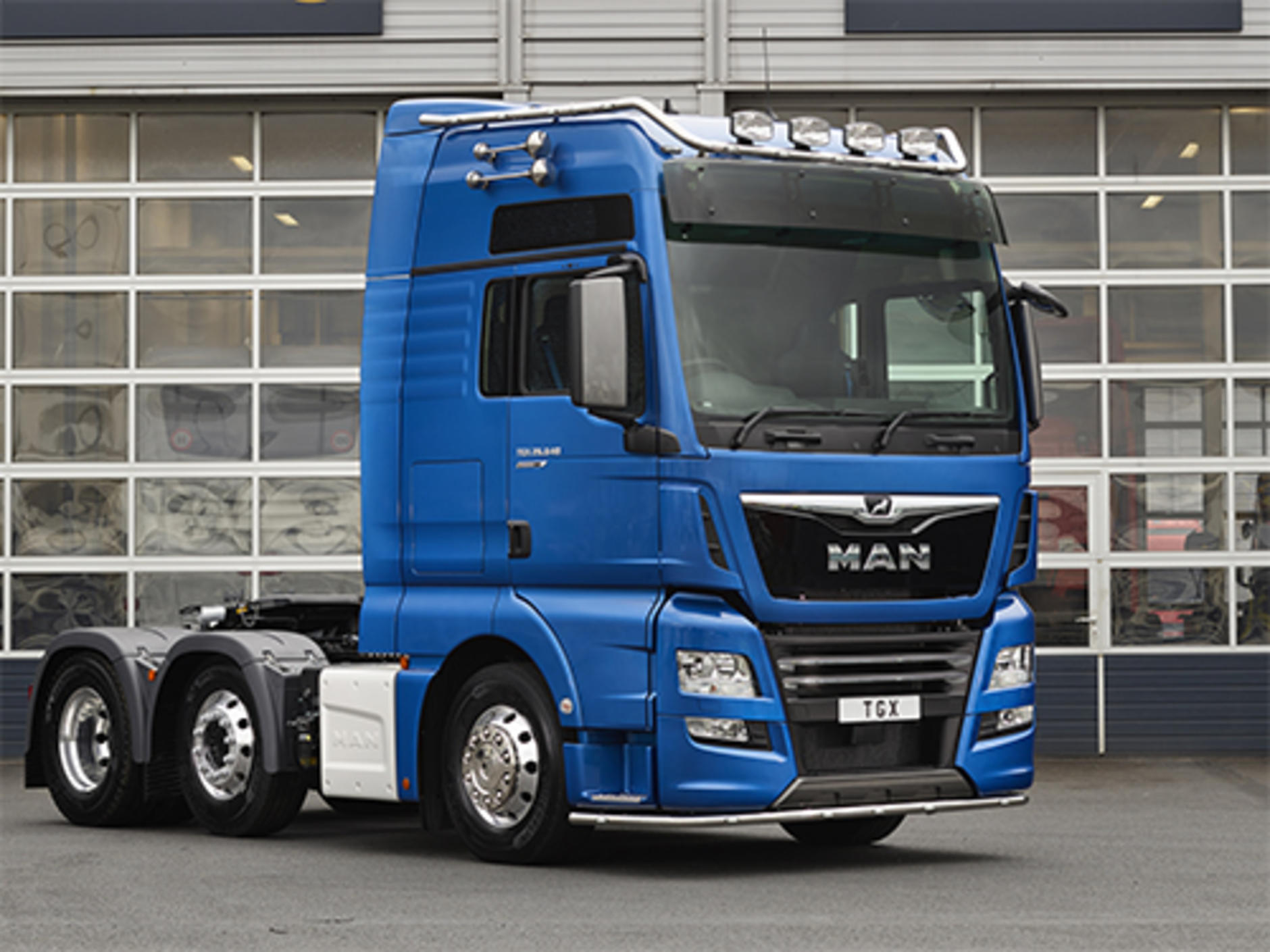 MAN Truck & Bus UK is presenting a strong future-proof portfolio of ...