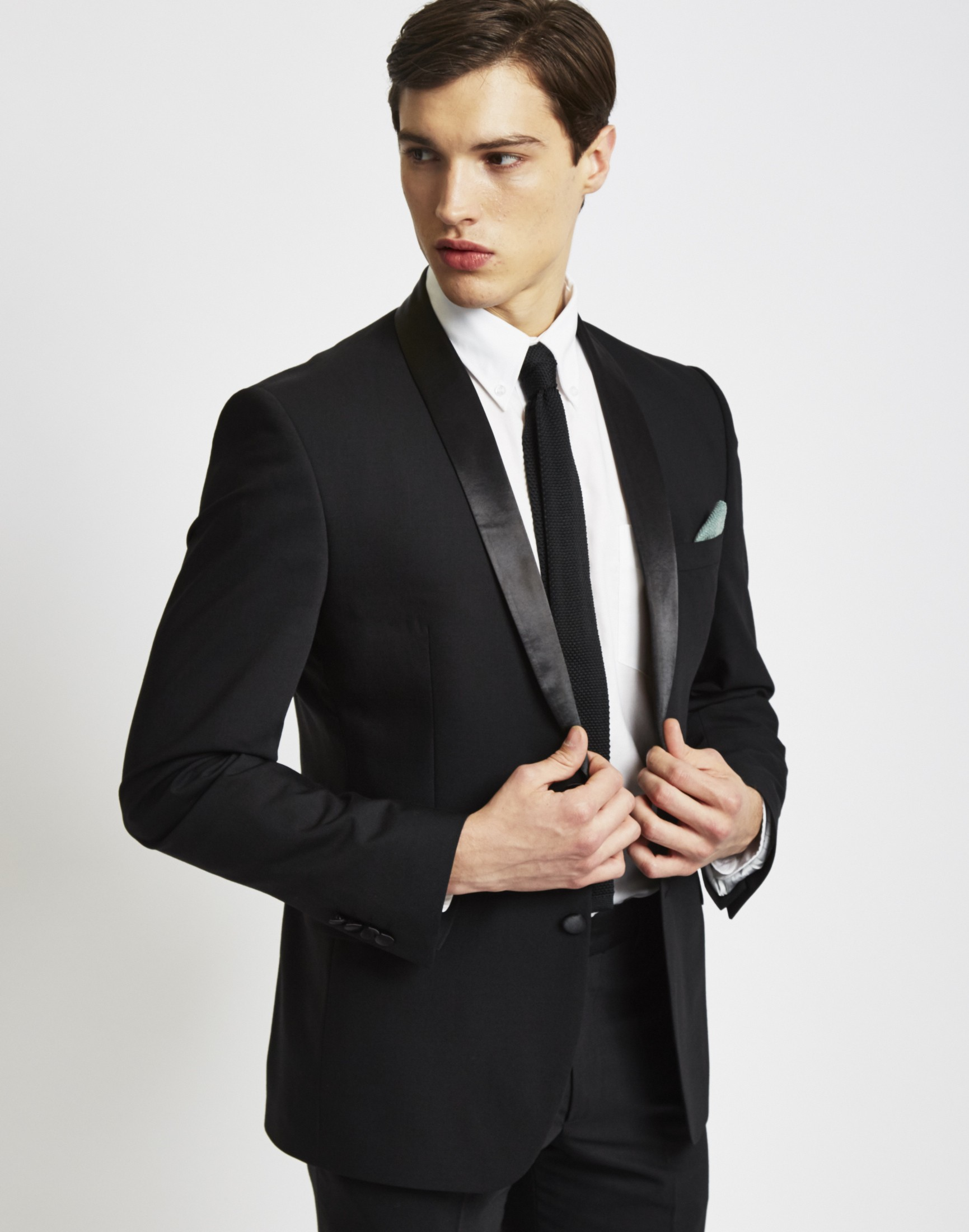 The Idle Man Tuxedo Jacket in Slim Fit at The Idle Man
