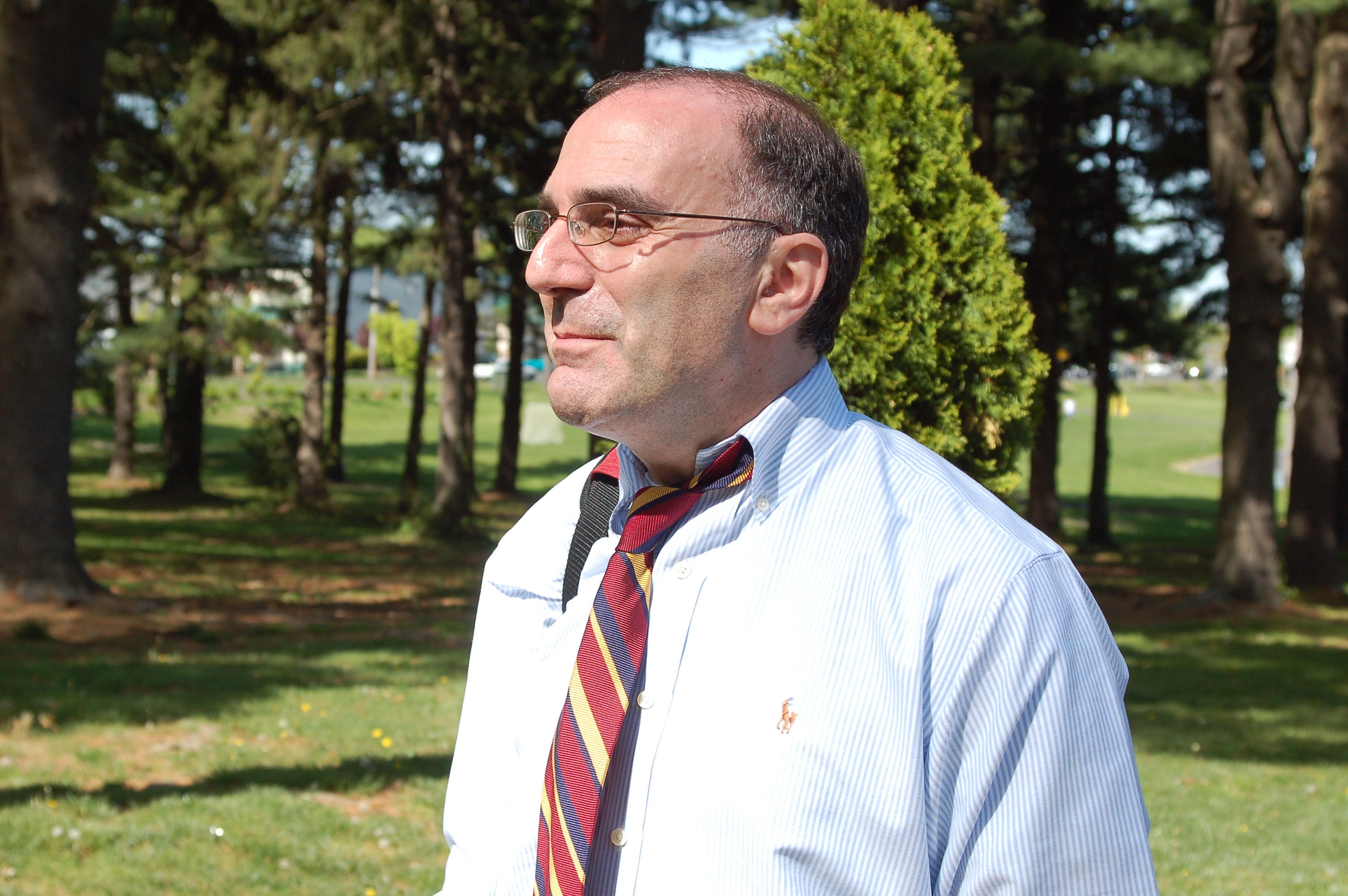 Man with a tie photo
