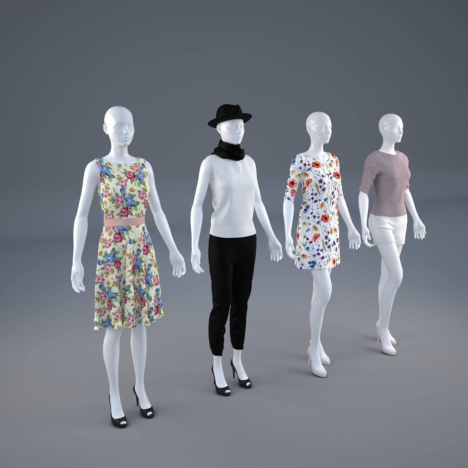Mannequin Woman Cloth Model For Shop 3D | CGTrader