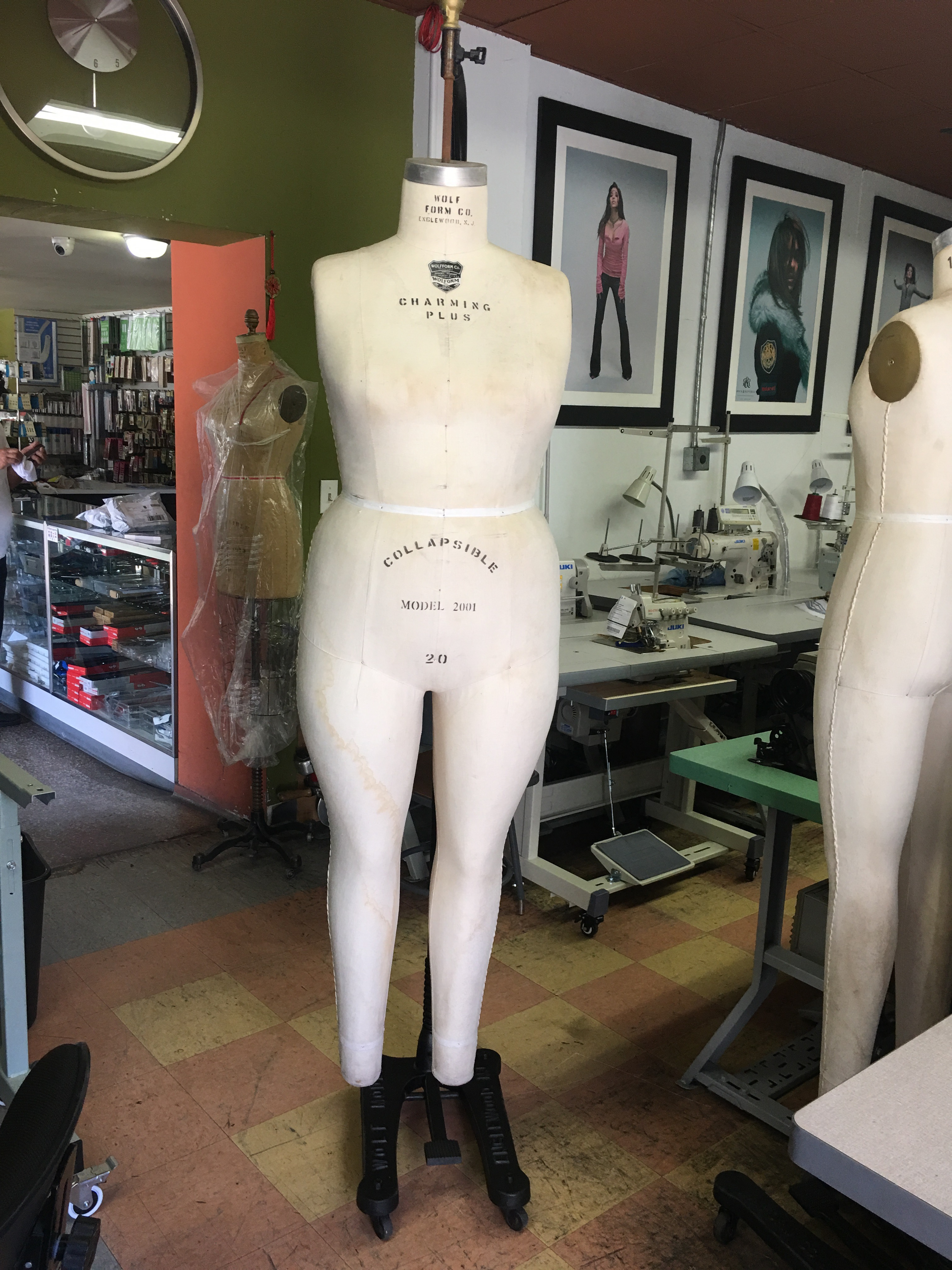 WOLF Form 20, 2001 Dress form, Dummy, Mannequin Plus Size, women ...