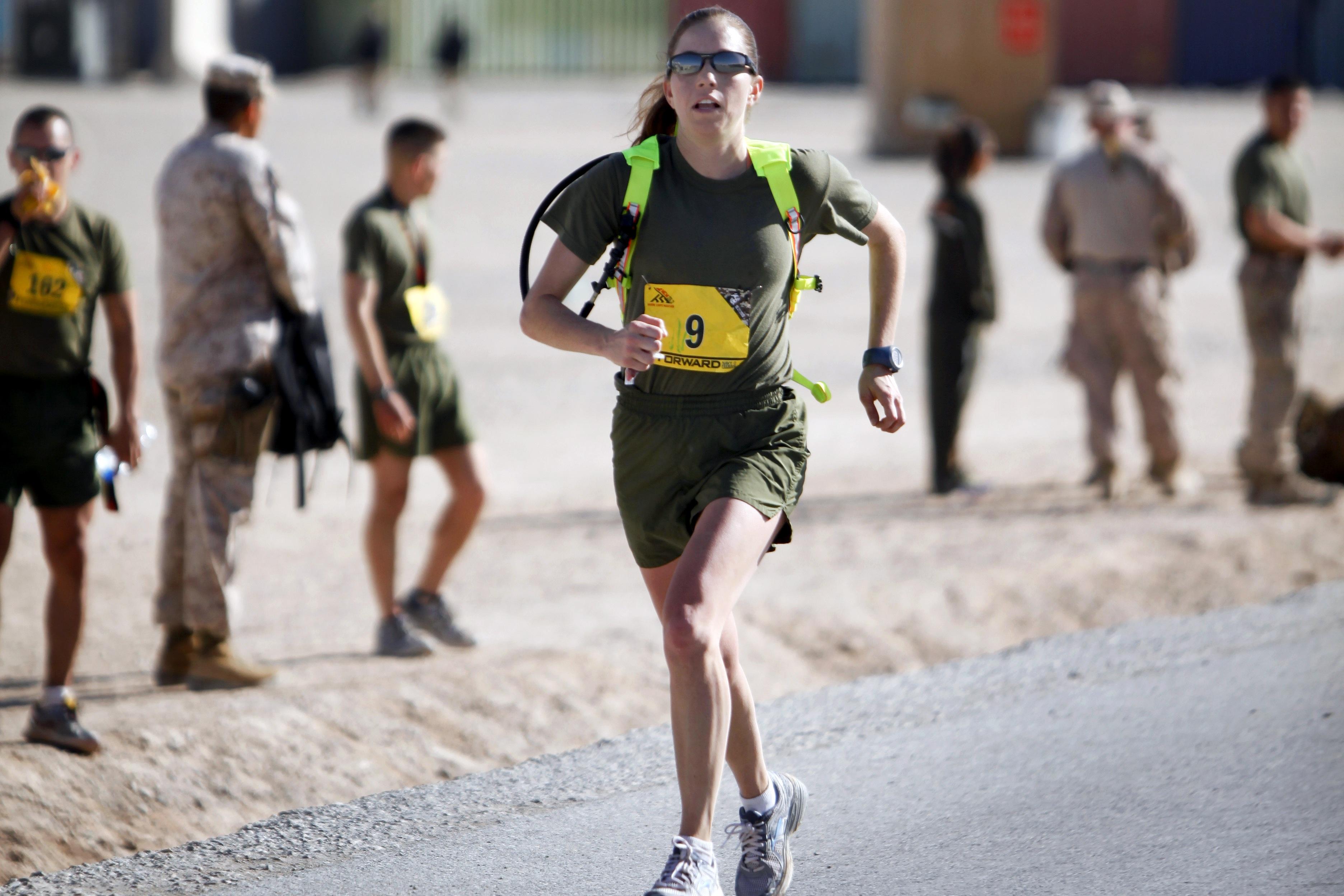 Marathon Runner, Exercise, Fit, Fitness, Girl, HQ Photo
