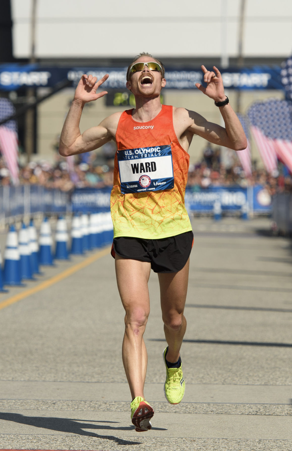 BYU marathoner Jared Ward finishes in Top 10 at Boston Marathon ...
