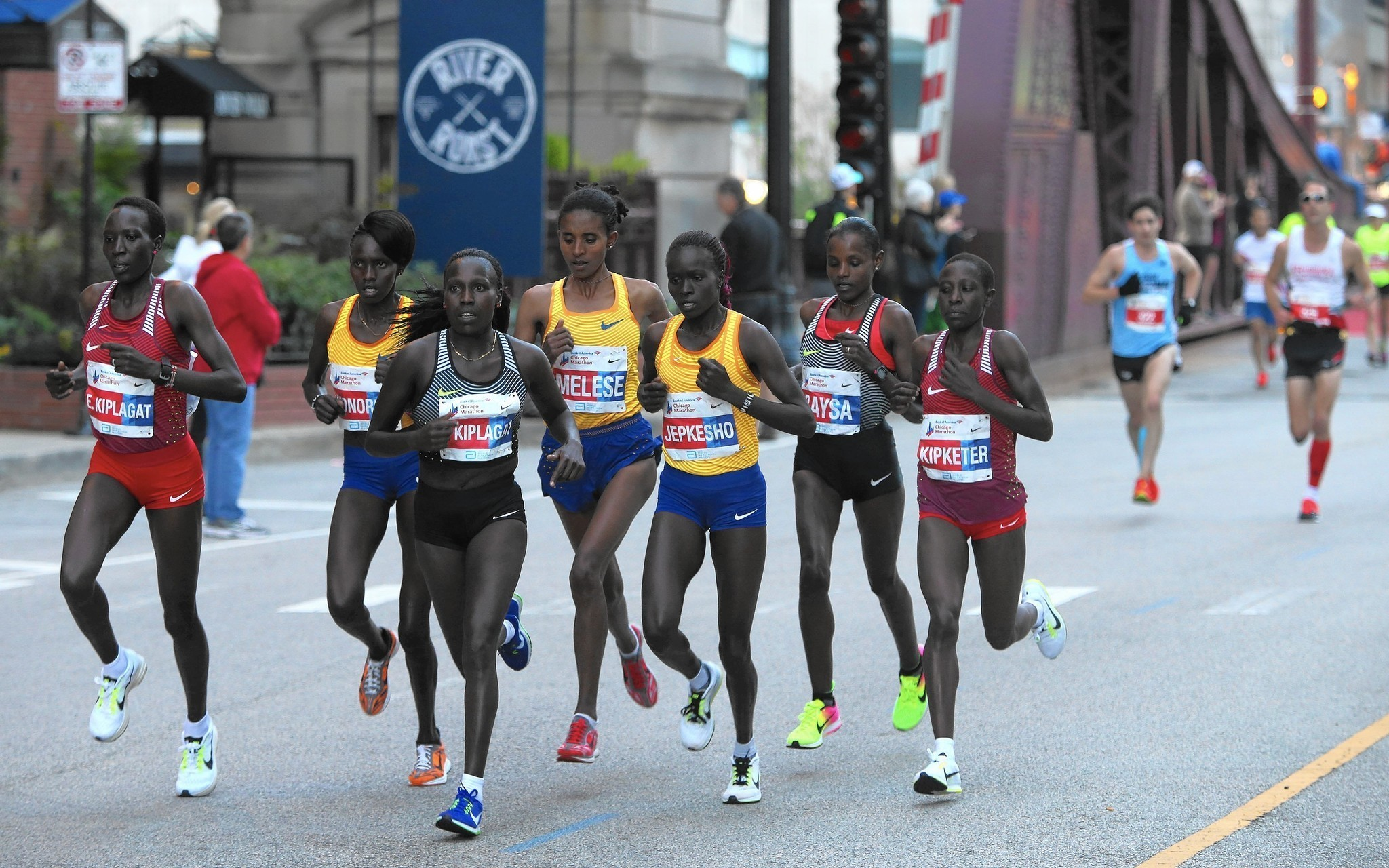 Marathon runners photo