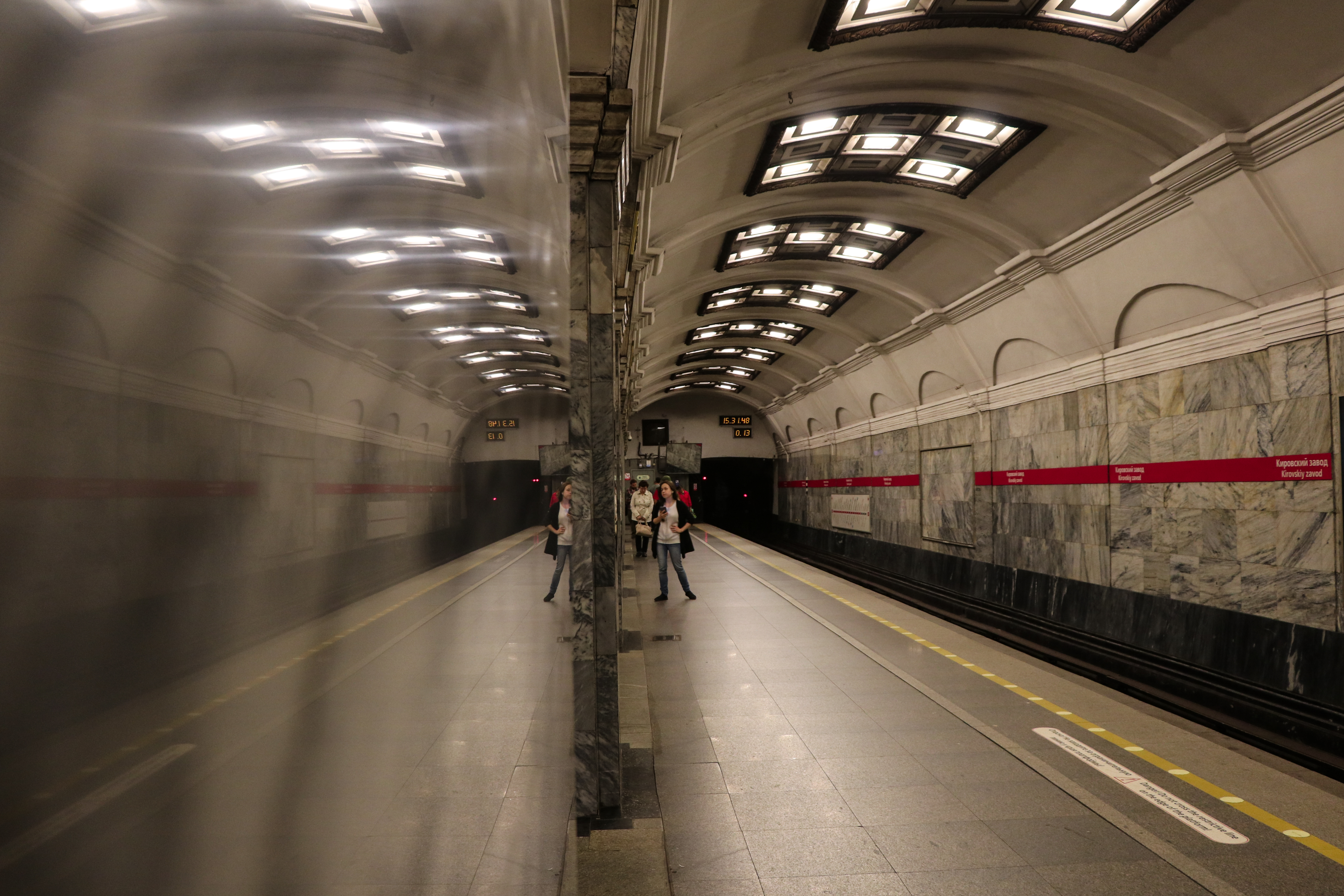 Marbel reflection -Saint Petersburg subway, Canon, Ceiling, Images of reflection, Marble, HQ Photo