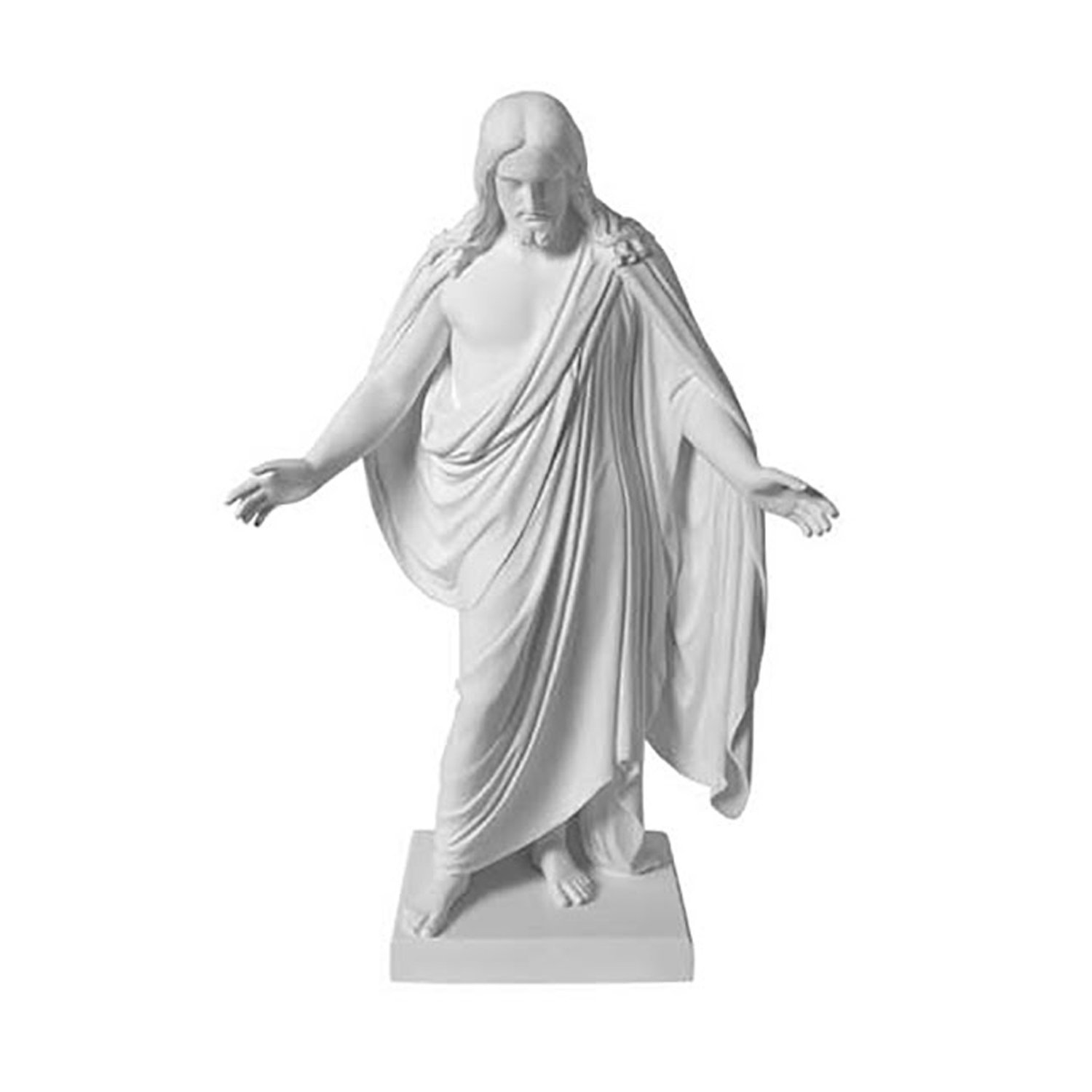 Marble jesus carving photo
