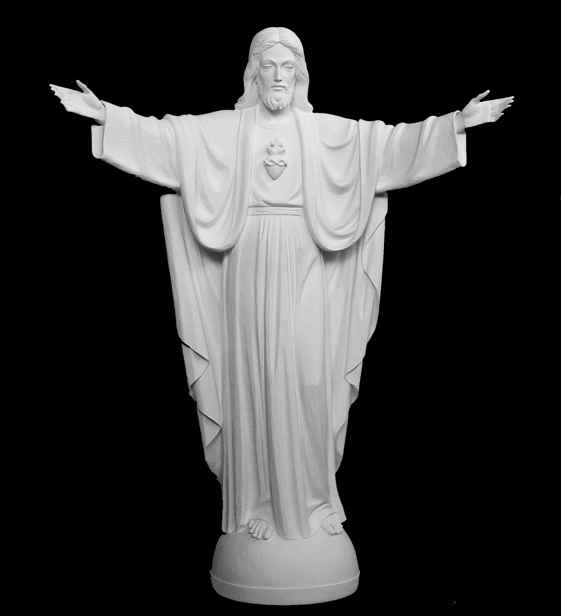 Bonded Marble Jesus Christ Statues