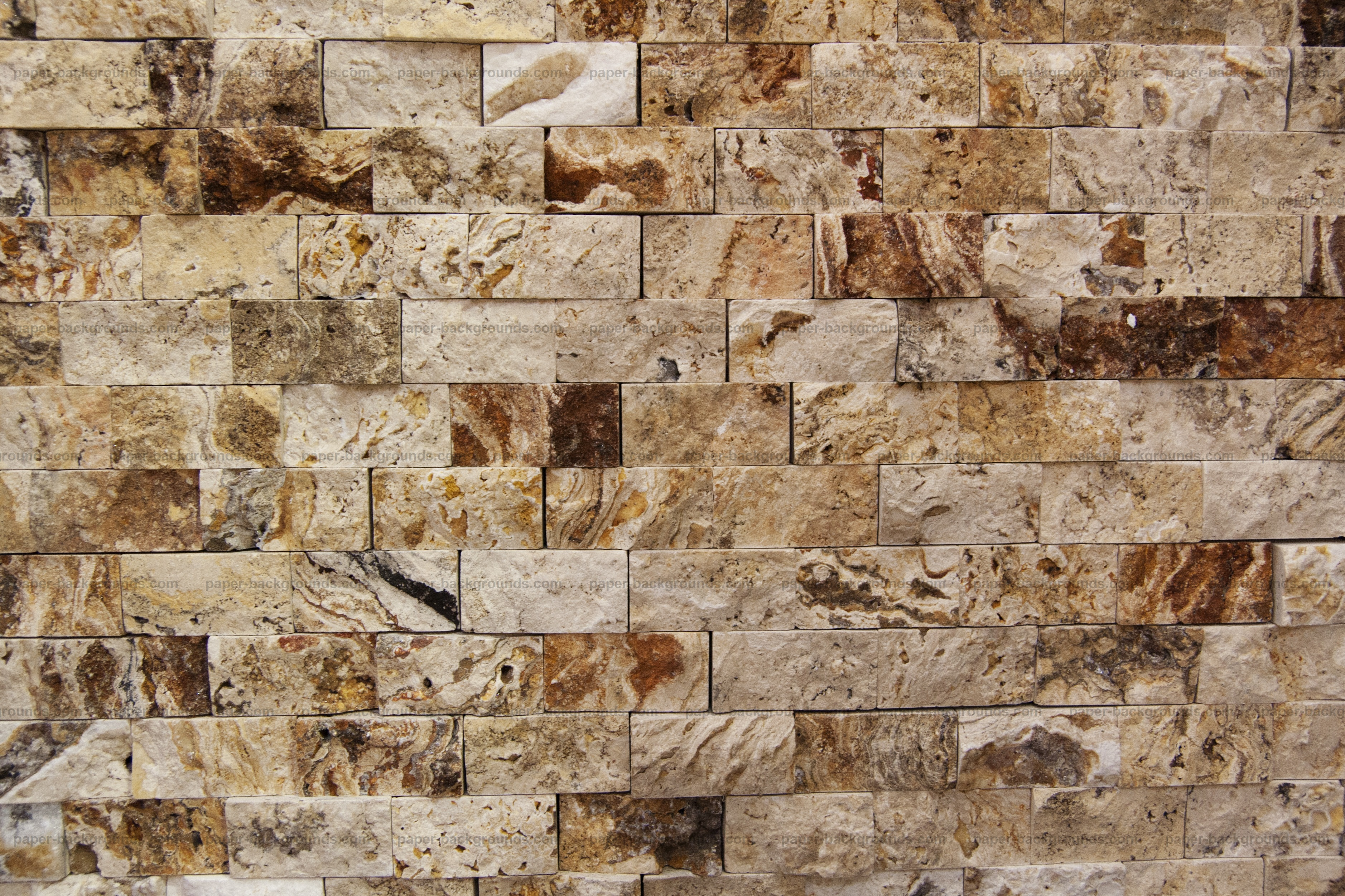 Paper Backgrounds | Rough Marble Brick Wall Texture High Resolution