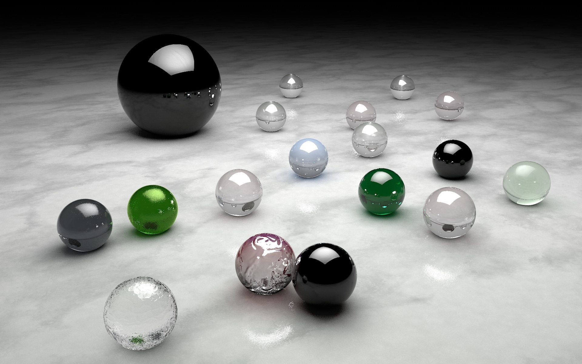 Marbles Wallpaper, 3drender, Abstract, Backgrounds, Ball, HQ Photo