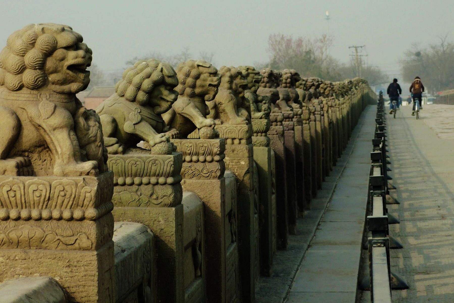Marco Polo Bridge in Beijing's historic ~ Travel guide