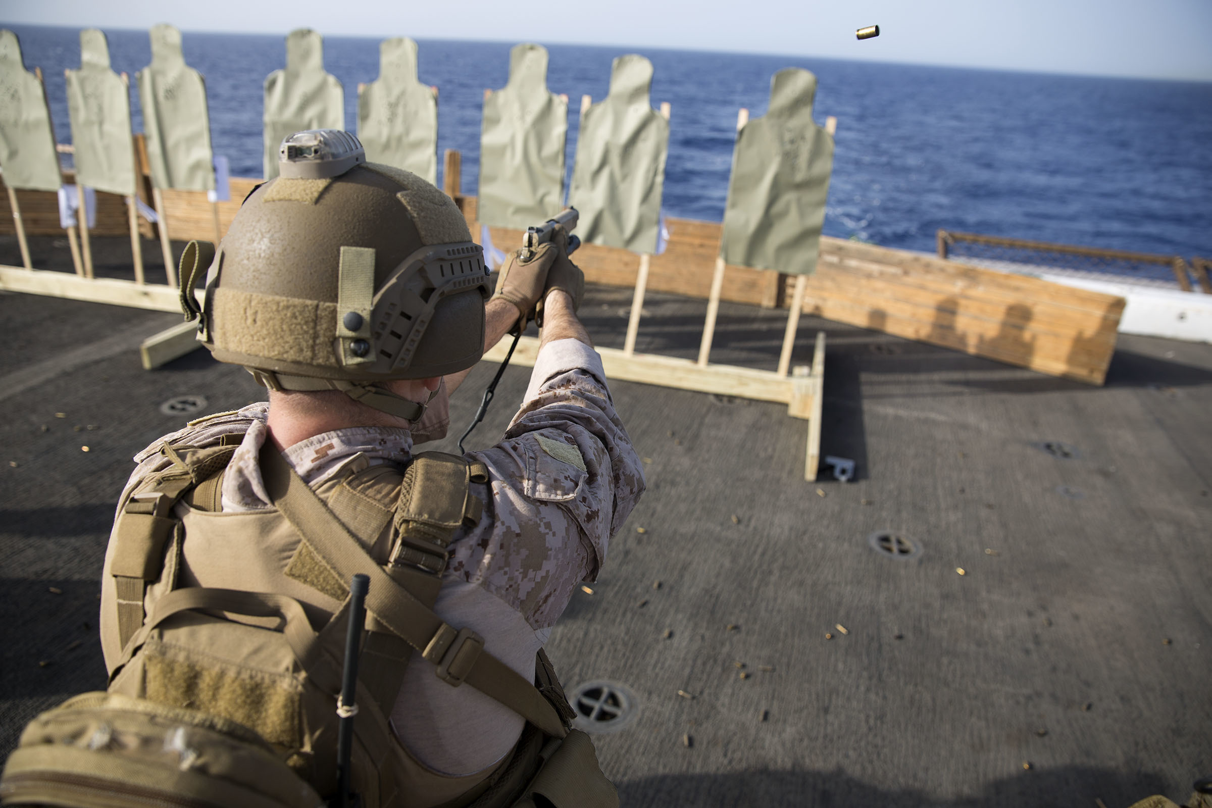 Marine Training, 24th, Deck, Expeditionary, Marines, HQ Photo