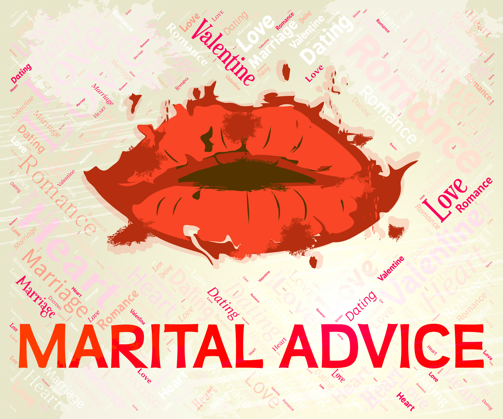 Marital advice means faq info and couple photo