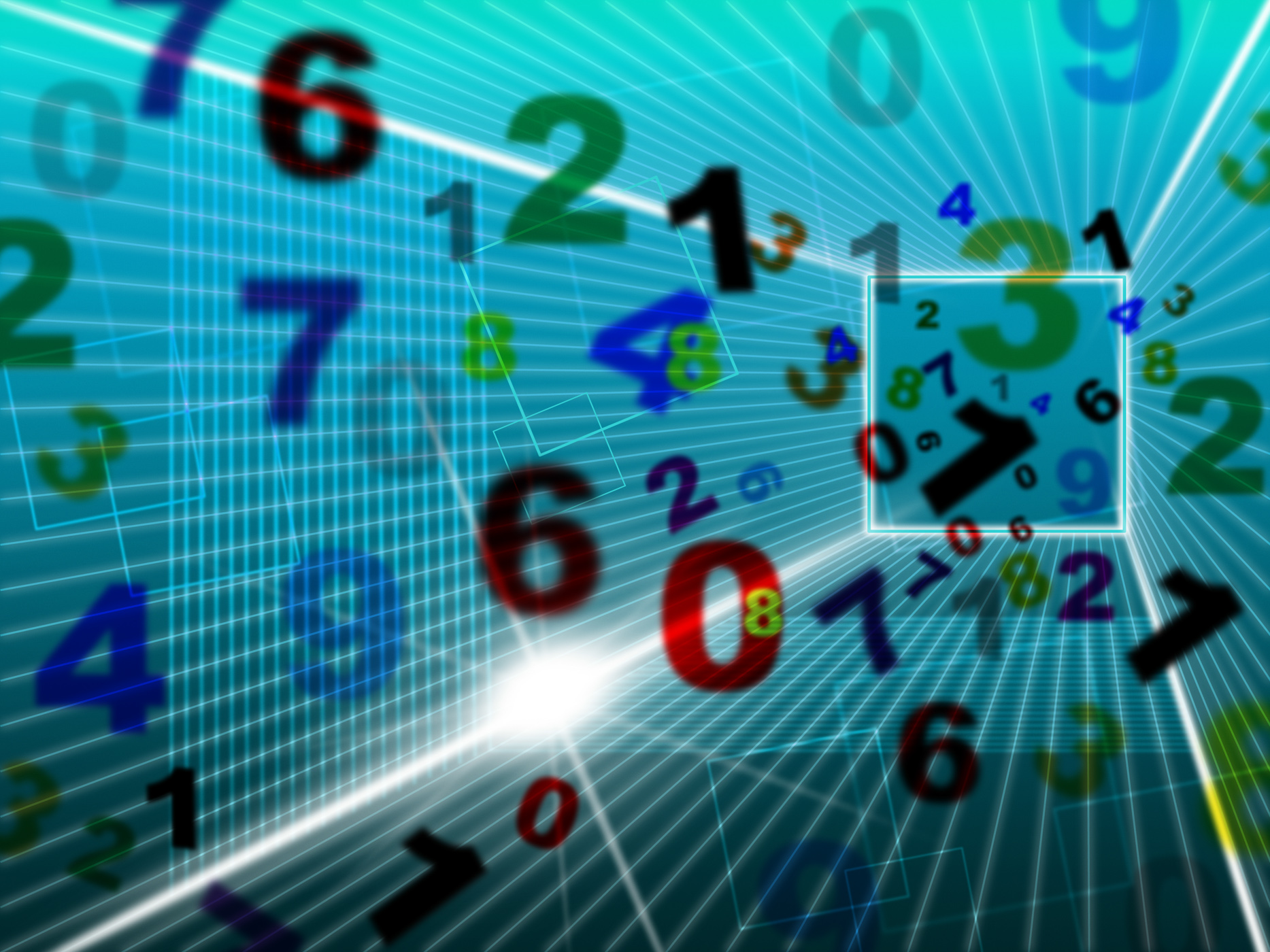 Maths Numbers Represents High Tech And College, Computing, Maths, Tutoring, Training, HQ Photo