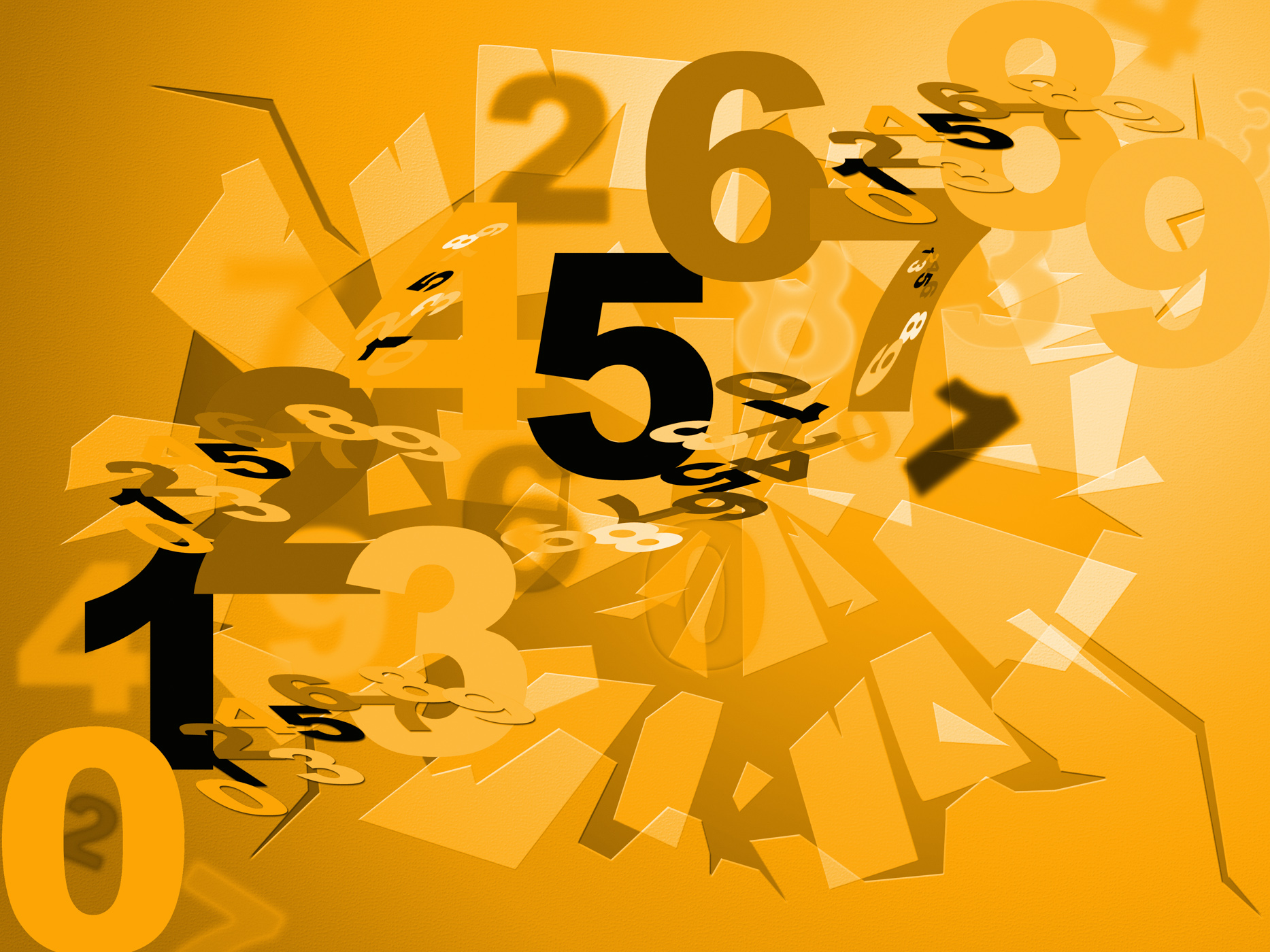Maths Numbers Shows Numerical Numerals And Design, Abstract, Numbers, Numerical, Numeric, HQ Photo