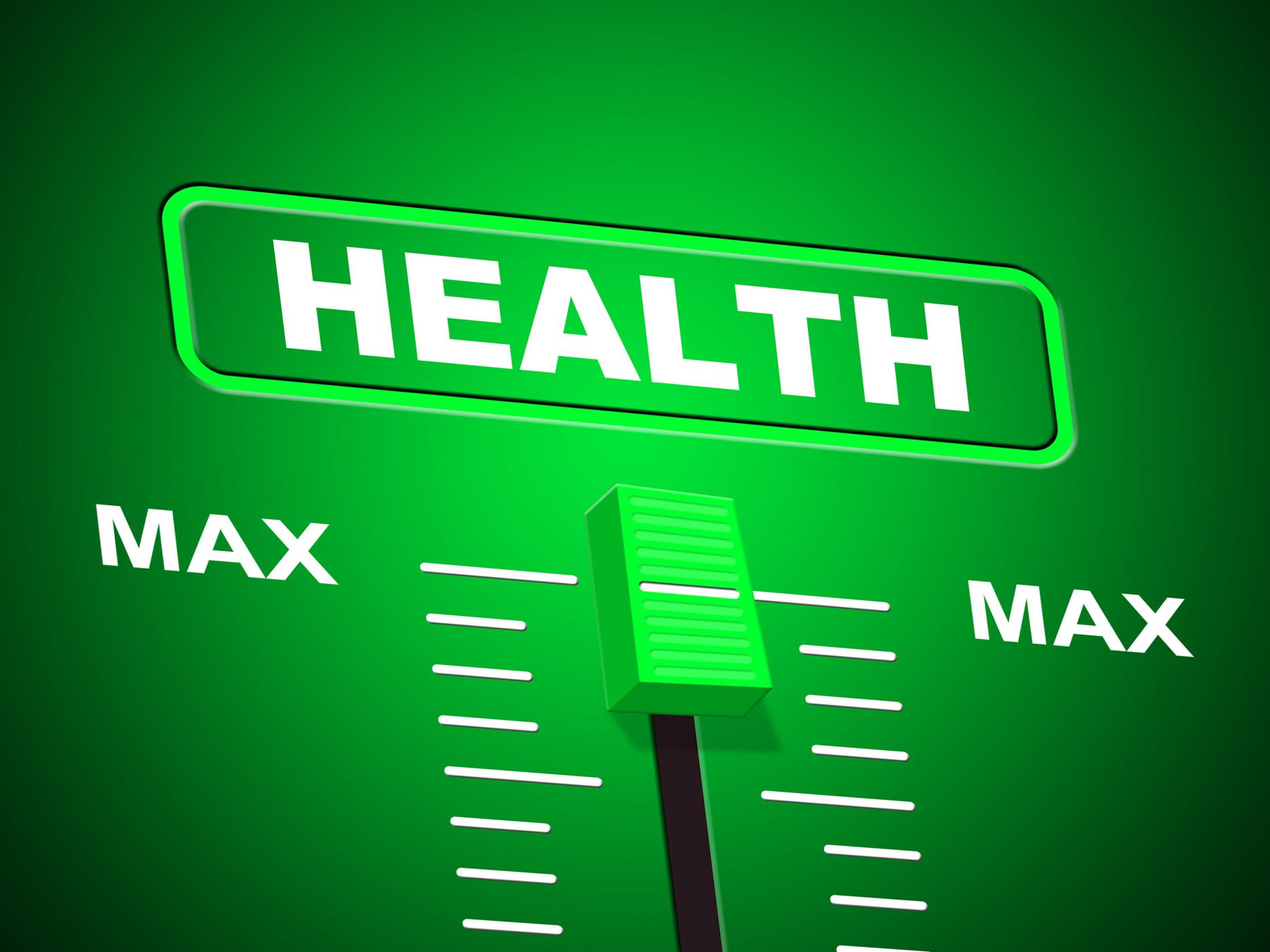 Max health indicates preventive medicine and doctors photo