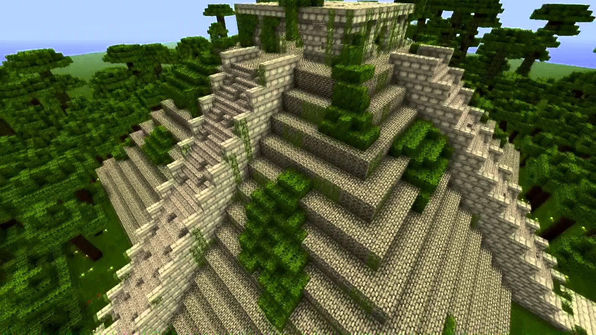 Minecraft Maya Temple - YouTube