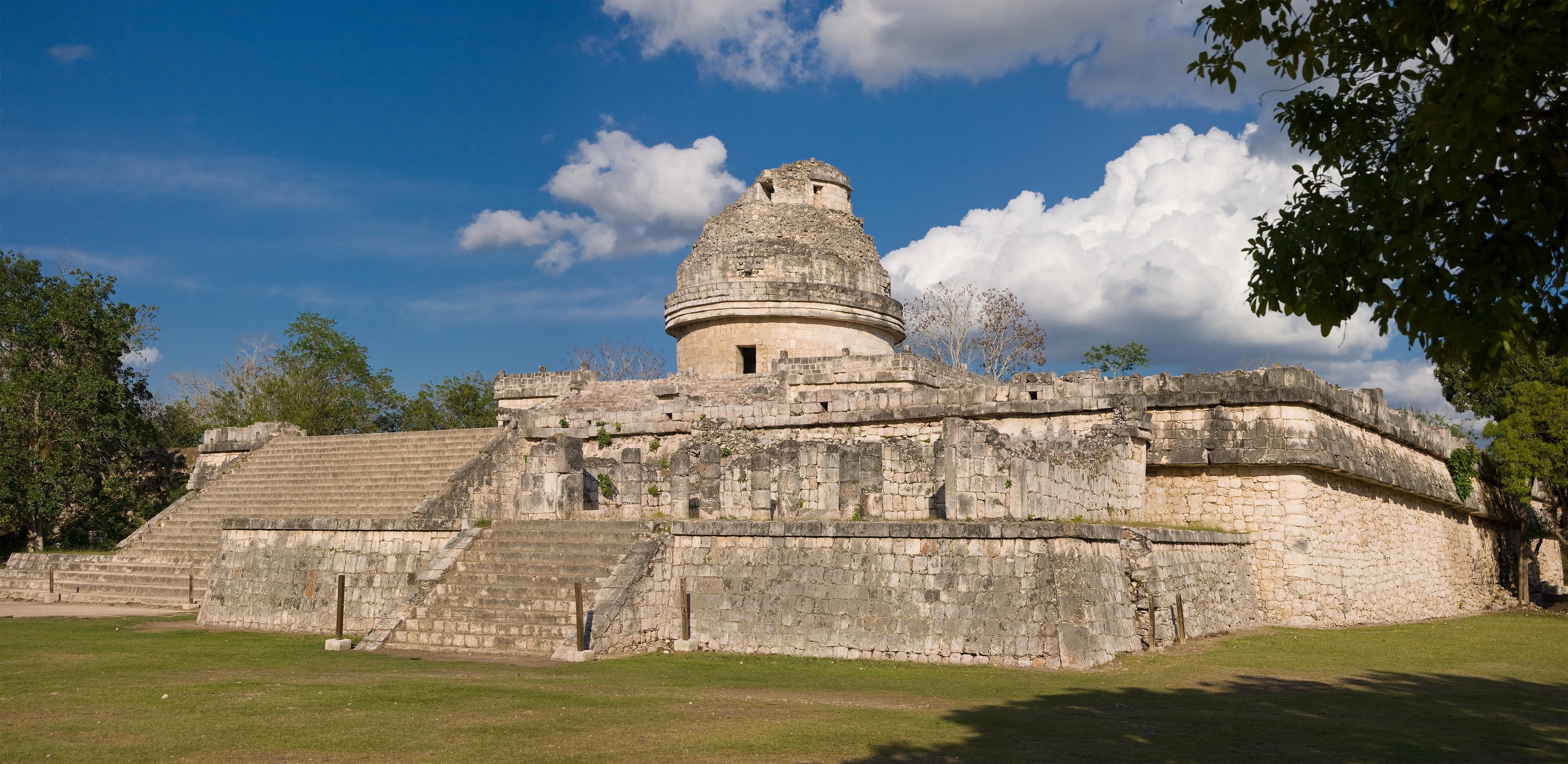 Mayan observatory photo