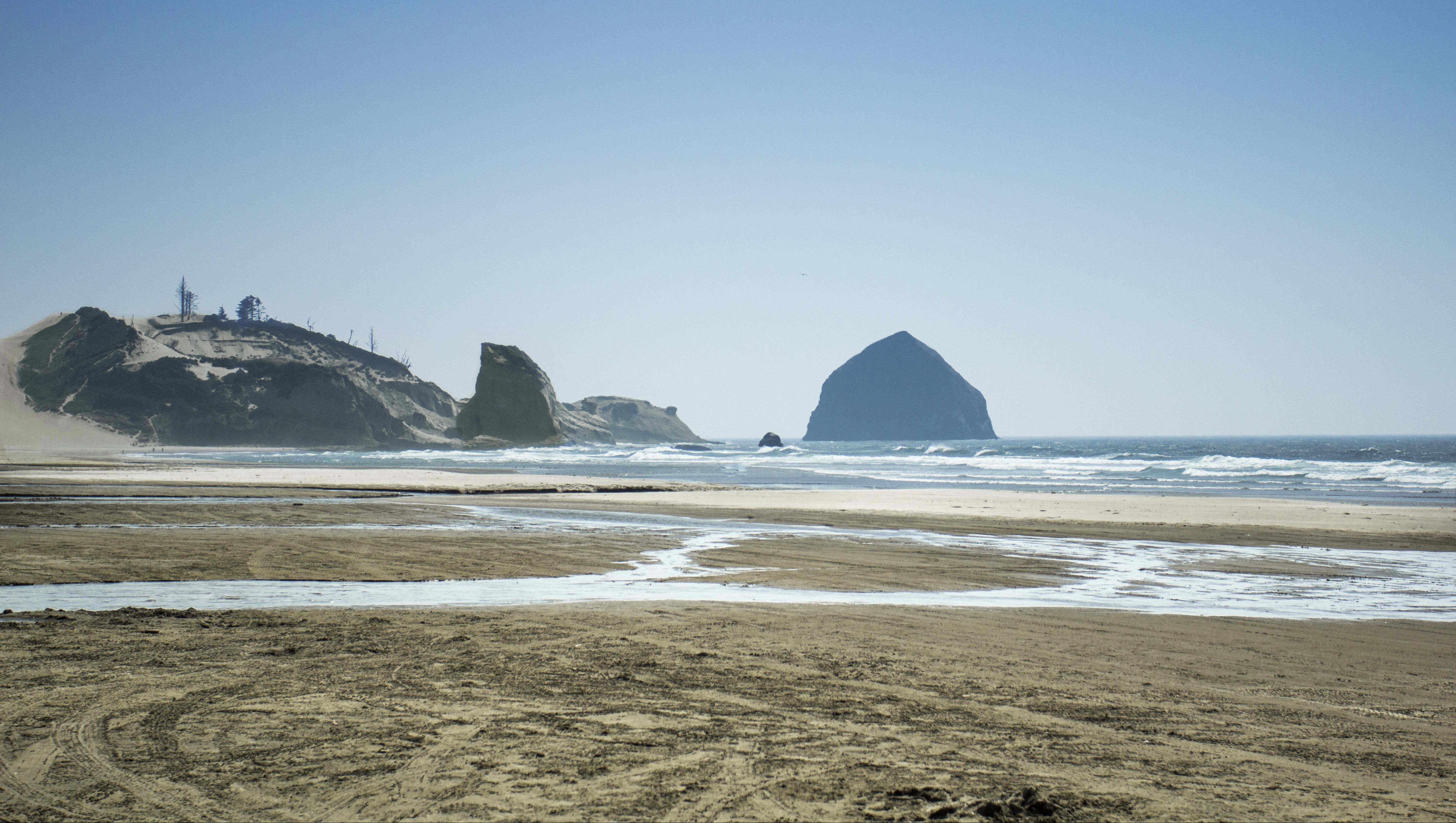 McPhillips Beach, Oregon, Bay, Oregon, Wave, Water, HQ Photo