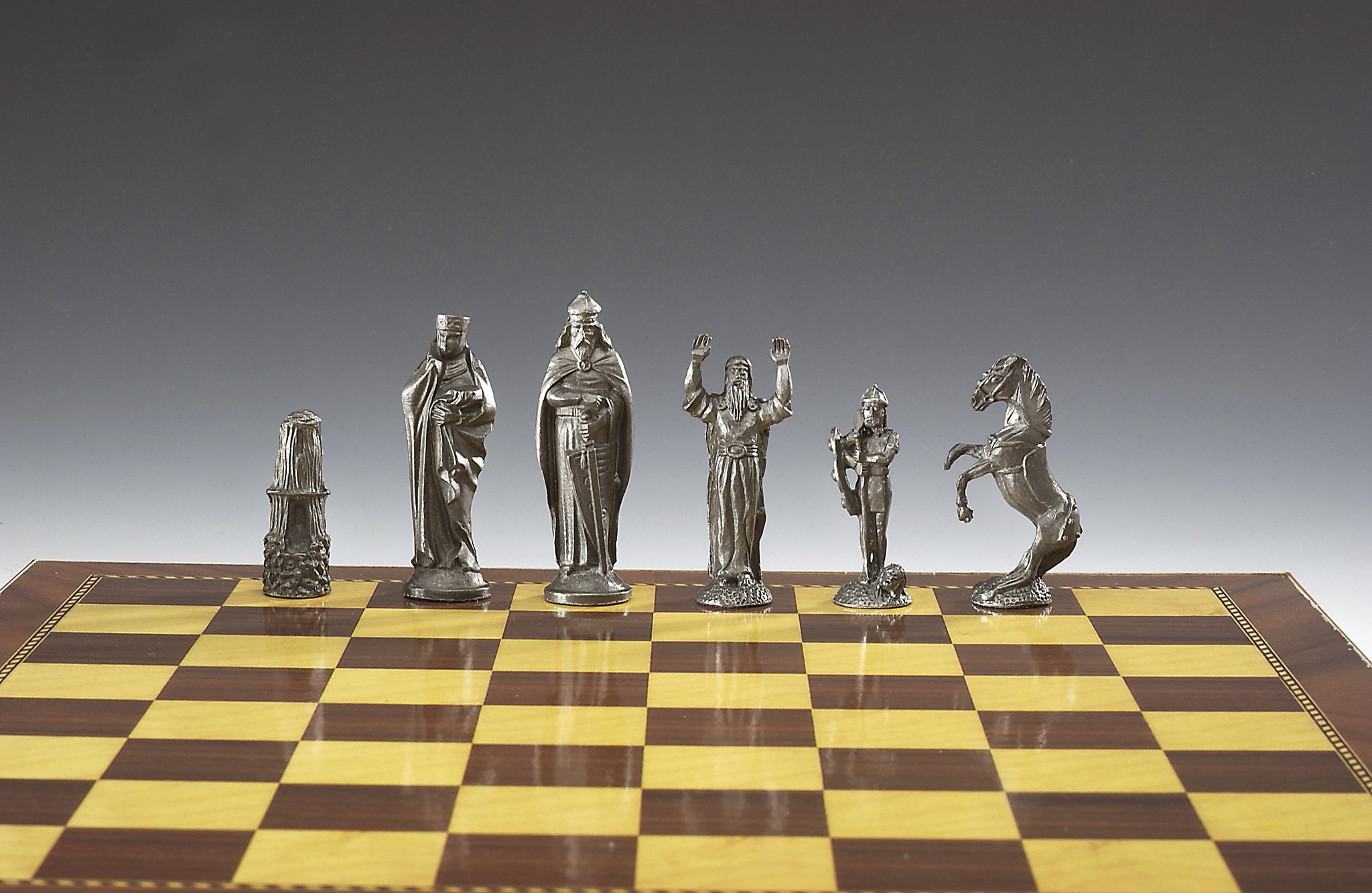 Medieval chess board photo