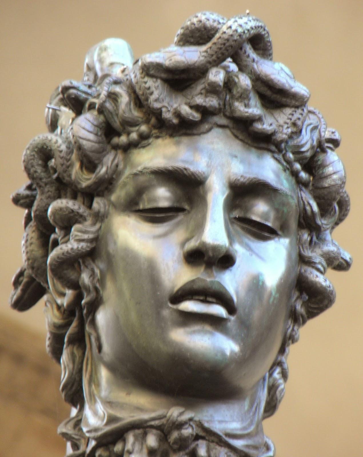 Chimeras: The head of Cellini's Medusa