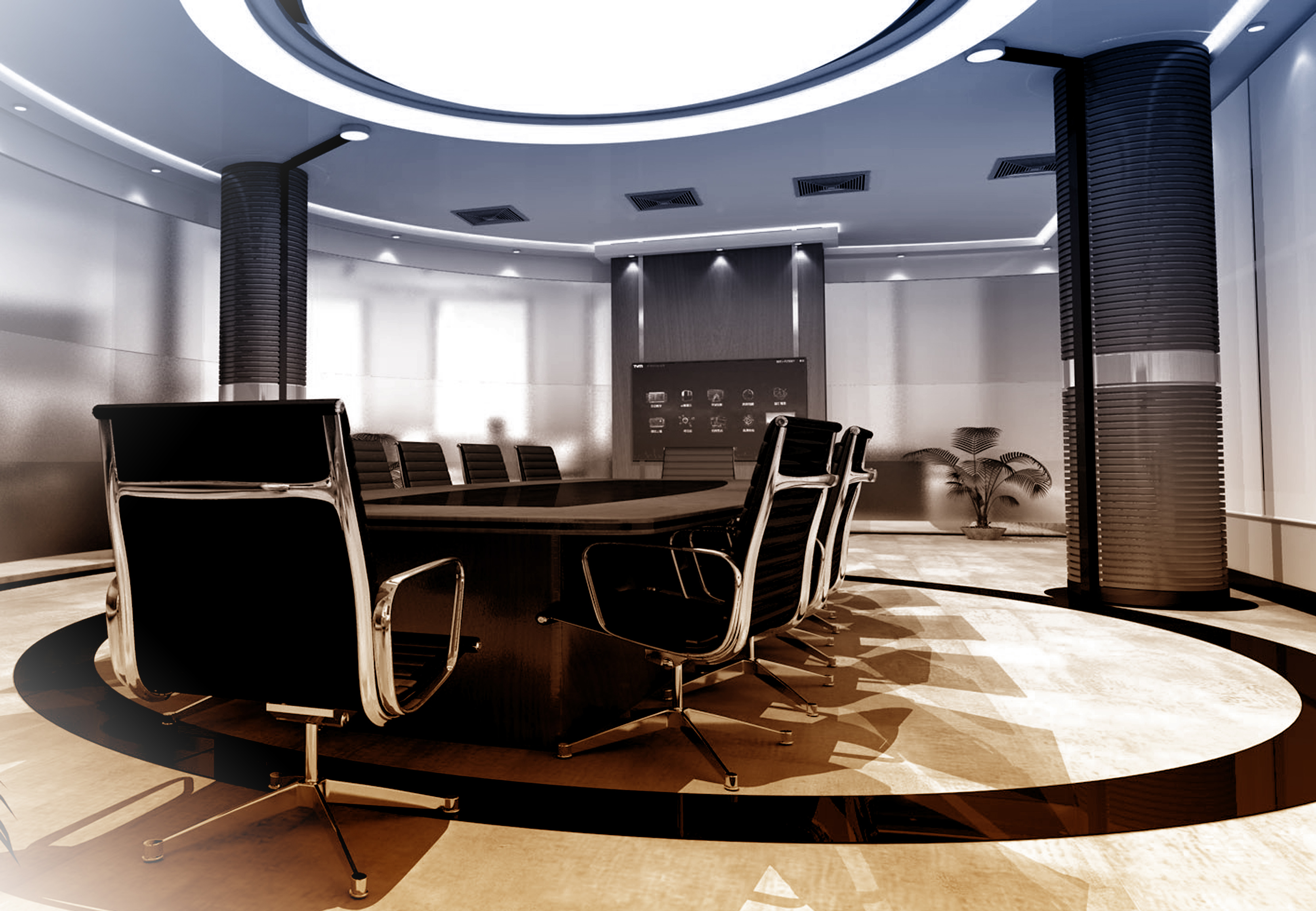 Meeting room - corporate concept photo